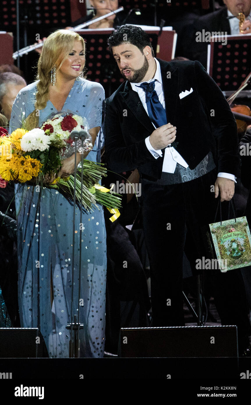 The parting of Anna Netrebko with her husband caused a stir 26.11.2013 25