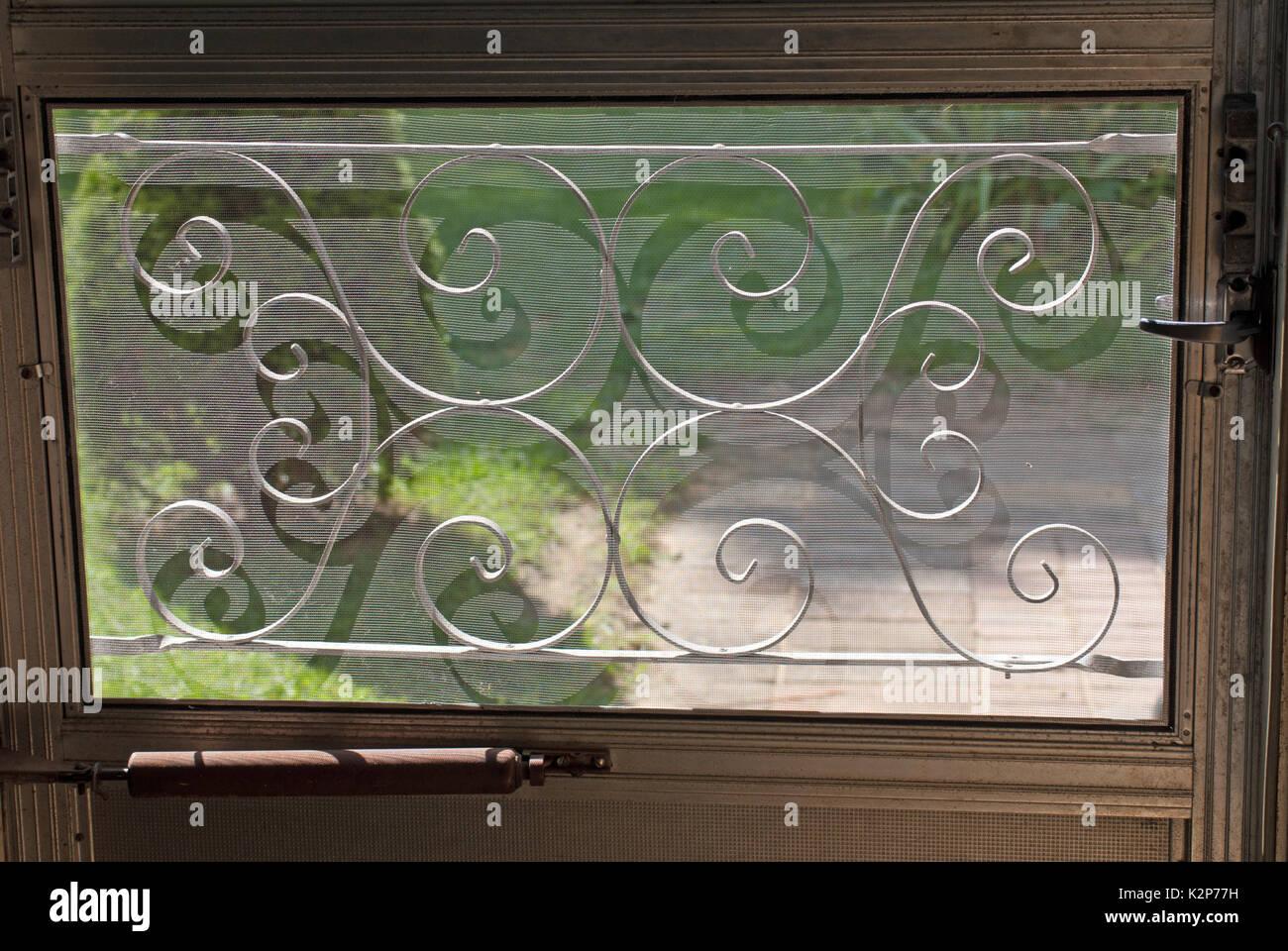 Screen Door Mesh Stock Photos Screen Door Mesh Stock Images Alamy