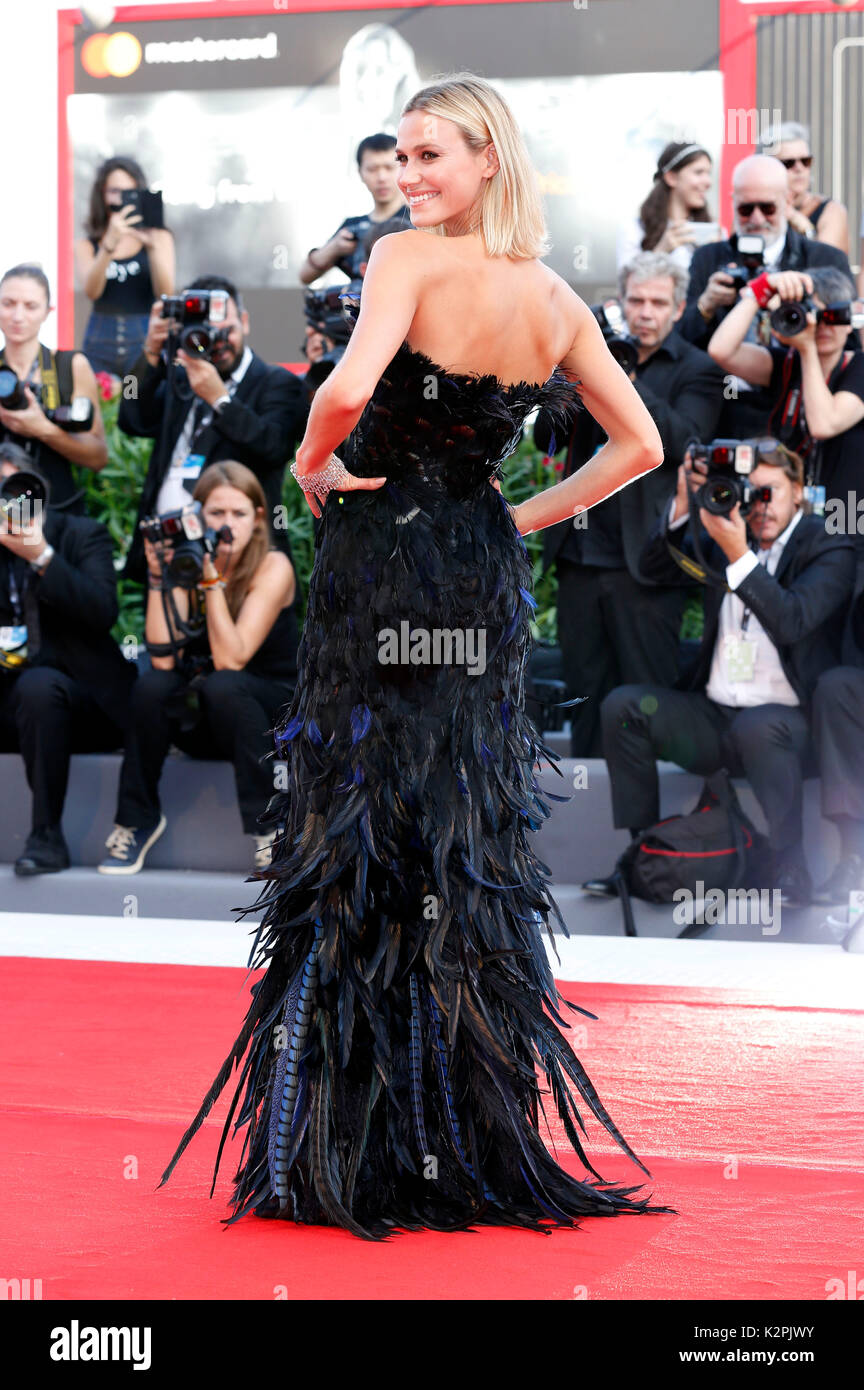 Venice, Italy. 30th Aug, 2017. Renata Kuerten attending the 'Downsizing' premiere and opening of the 74th Venice International Film Festival at the Palazzo del Cinema on August 30, 2017 in Venice, Italy. Credit: Geisler-Fotopress/Alamy Live News - Stock Image