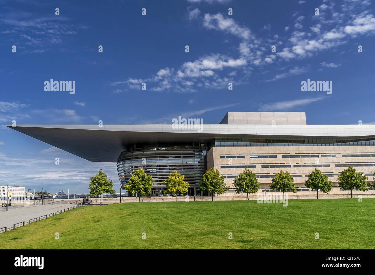 Copenhagen Opera House - Stock Image