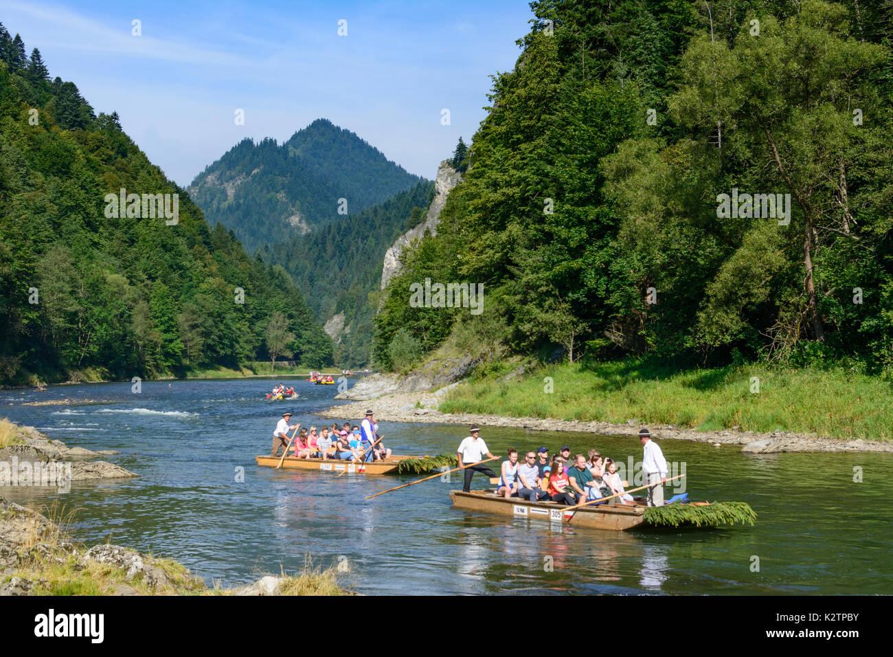 Dunajec River Gorge Wooden Raft Rafts Boat Pieniny