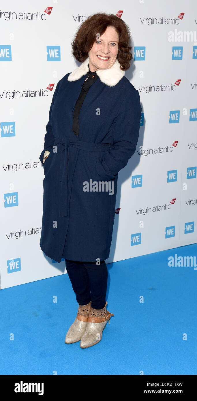 Photo Must Be Credited ©Alpha Press 079965 22/03/2017 Margaret Trudeau at WE Day UK 2017 held at Wembley Arena in London - Stock Image