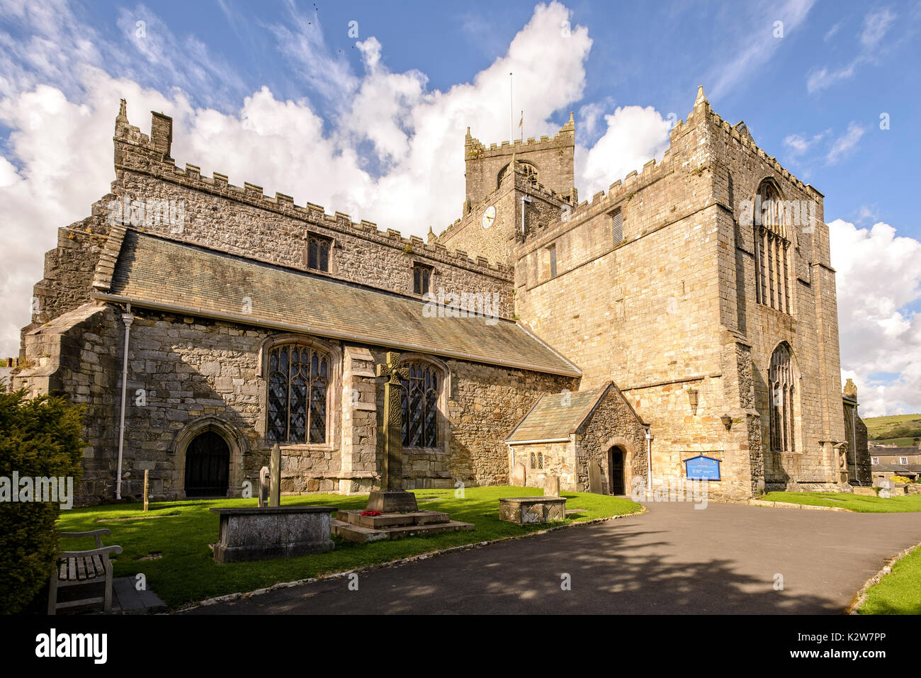 Priory church of St.Mary and St.Michael, Cartmel, Cumbria - Stock Image