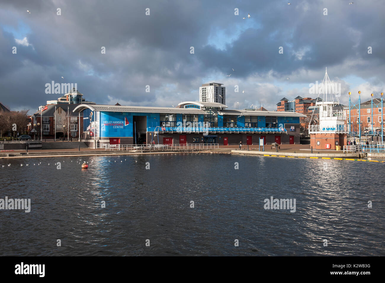 Salford Watersports Centre, Salford Quays - Stock Image