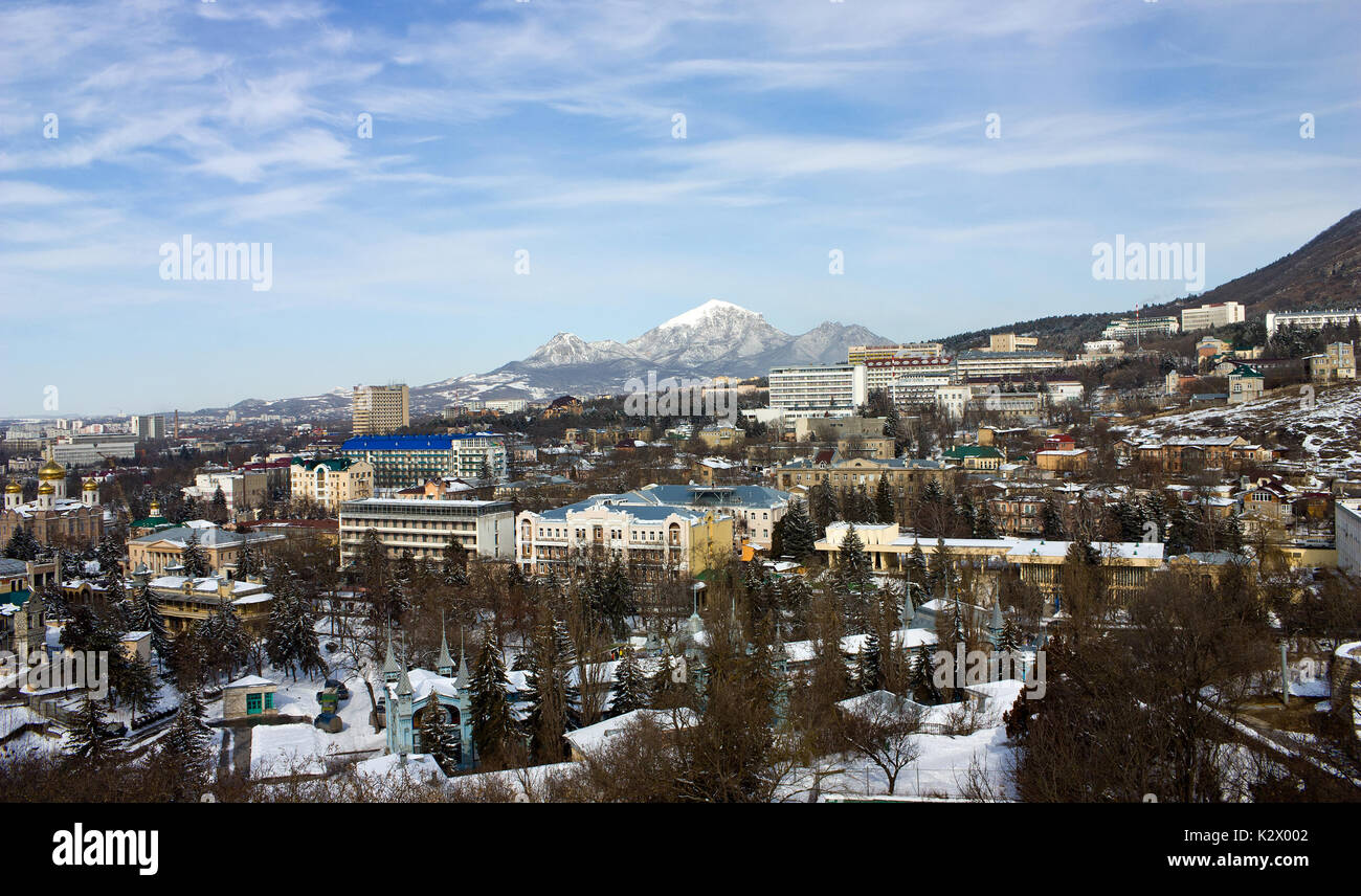 Where is Nalchik - a resort town in the heart of the North Caucasus
