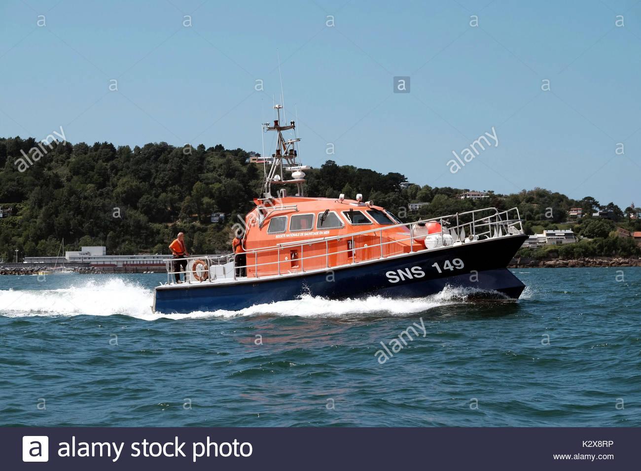 bateau de sauvetage de la snsm stock photos  u0026 bateau de sauvetage de la snsm stock images