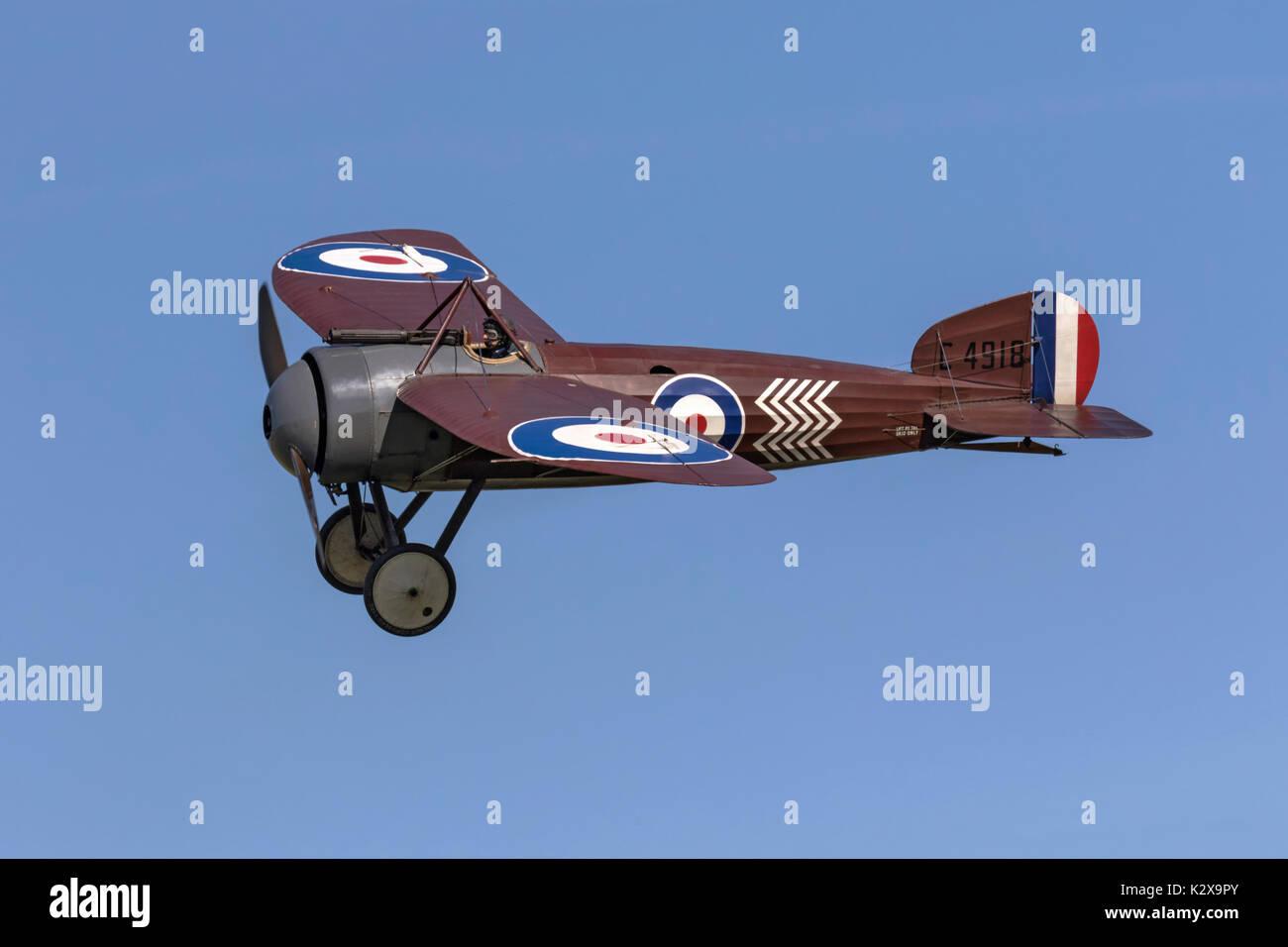 Bristol M1c WW! monoplane fighter - Stock Image