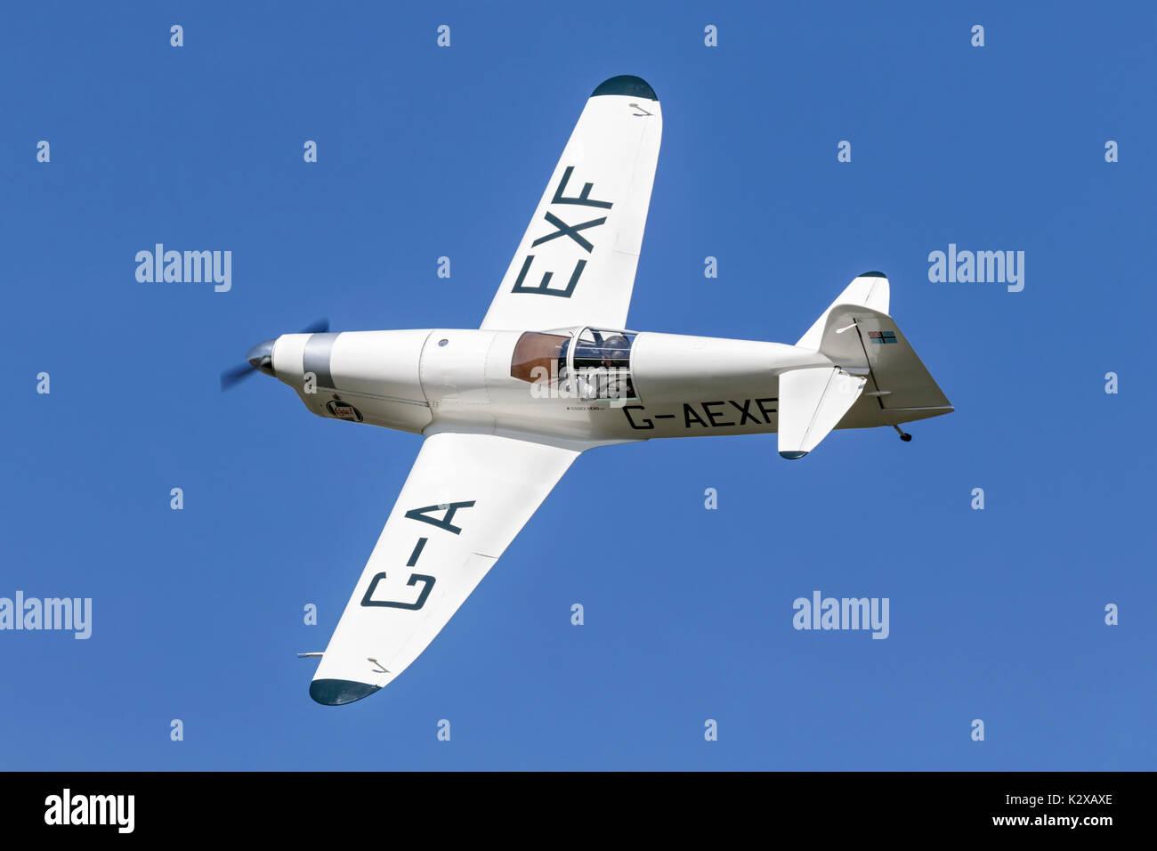 Percival Mew Gull racing aircraft - Stock Image
