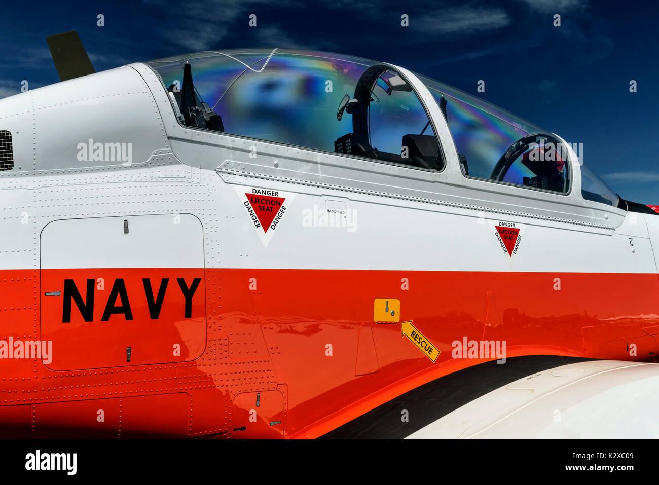 Beechcraft T6Texan 2 - Stock Image