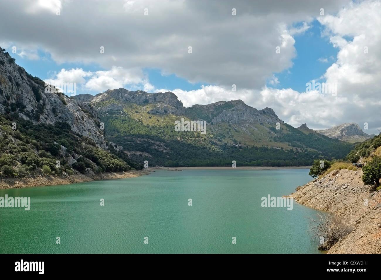Embassament de Cuber Balearic Island Majorca Spain, Espana EU European Union Europe - Stock Image