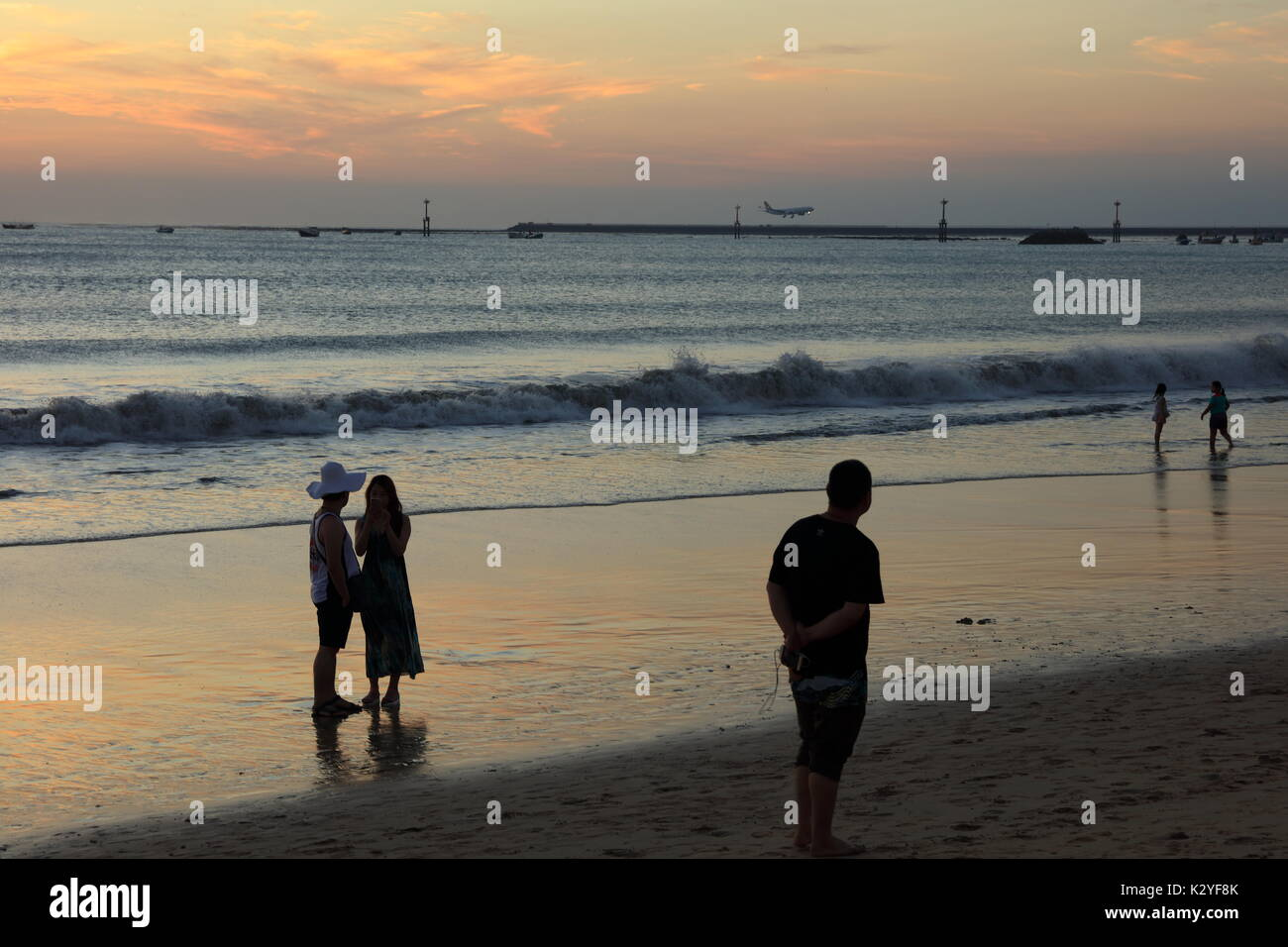 Jimbaran Beach Bali Stock Photo 156727331 Alamy