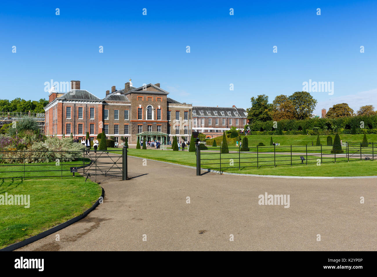 Kensington palace, London, England - Stock Image
