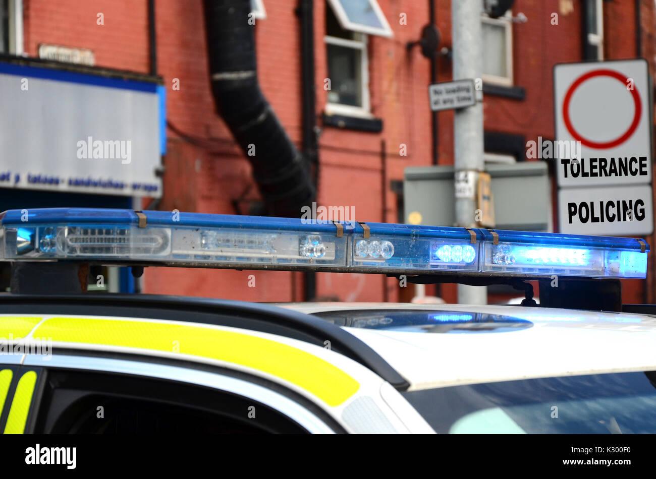 zero tolerance policing - Stock Image