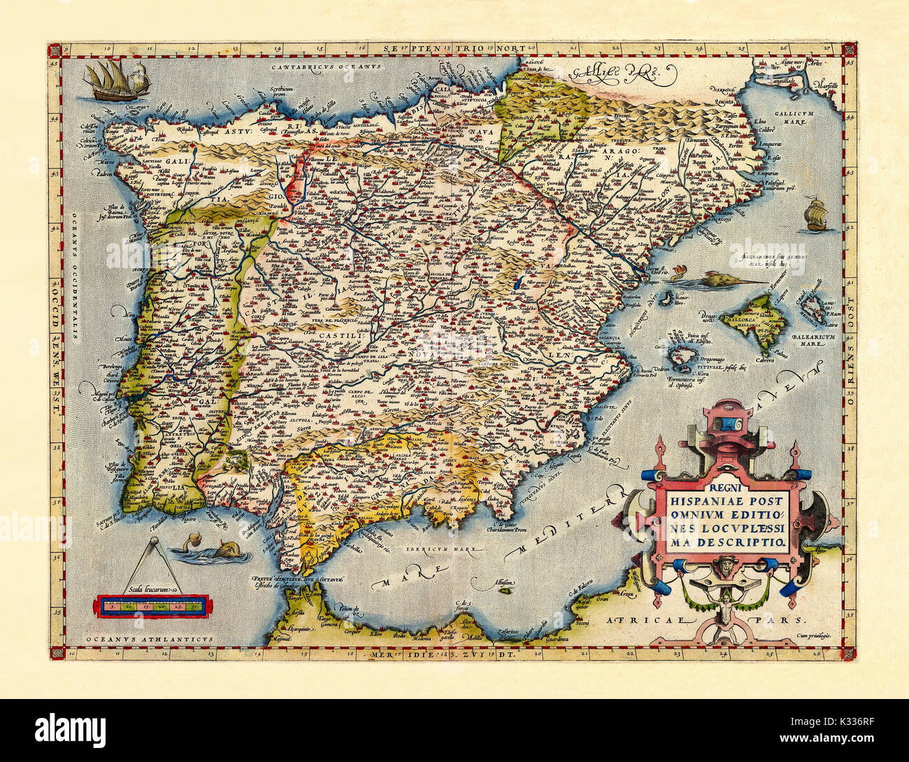Old map of Iberian peninsula in excellent state of ... La Peninsula Iberica Map on aztlan map, constantinople map, rias baixas map, mallard lake charlotte nc map, delaware old grounds fishing map, oceano atlantico spain map, castile spain map, spain's agricultural map, the movie el norte map, moors invade spain map, catalonia map,