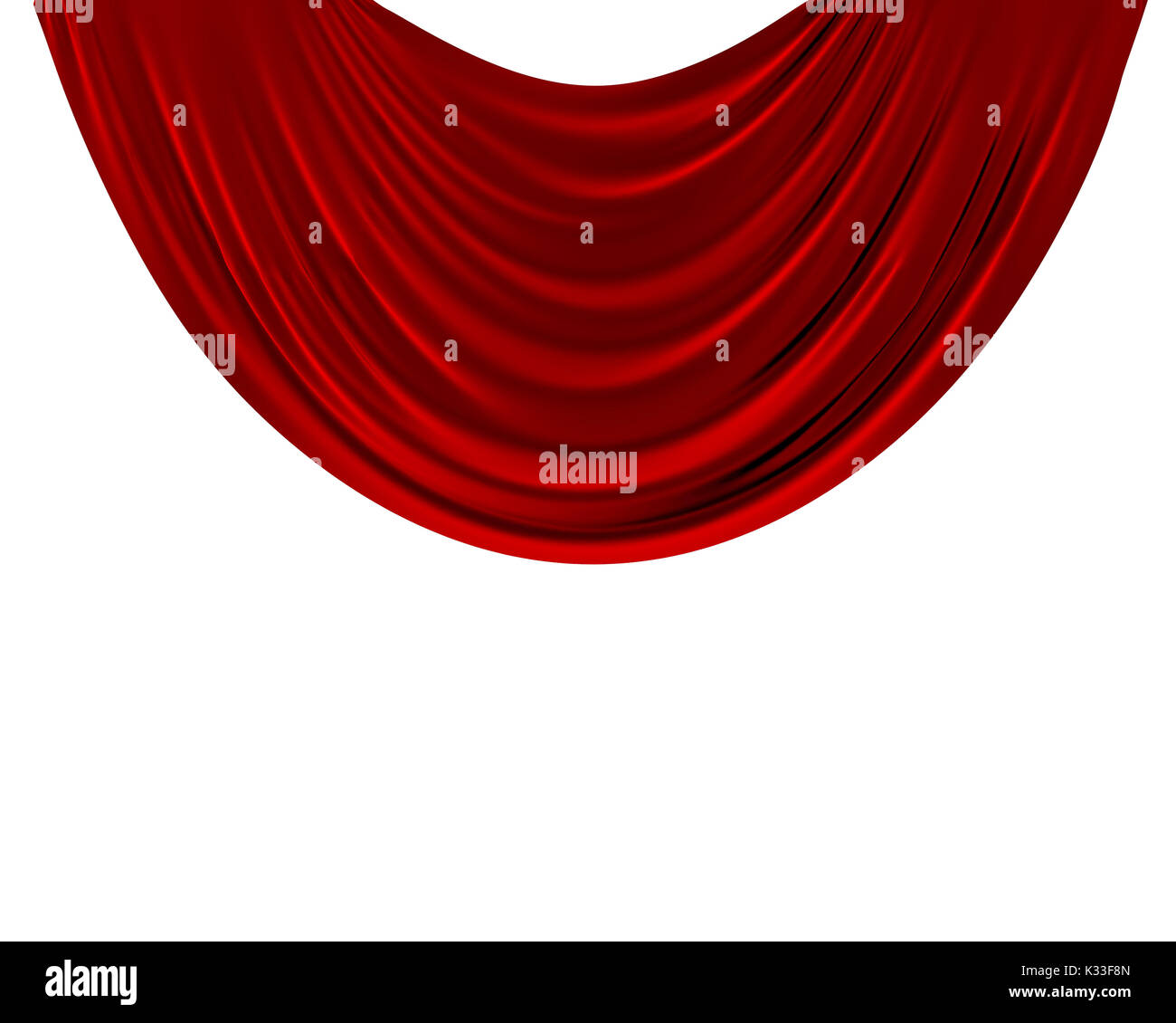 Red And White Curtain Background  Free White Background Royalty Free