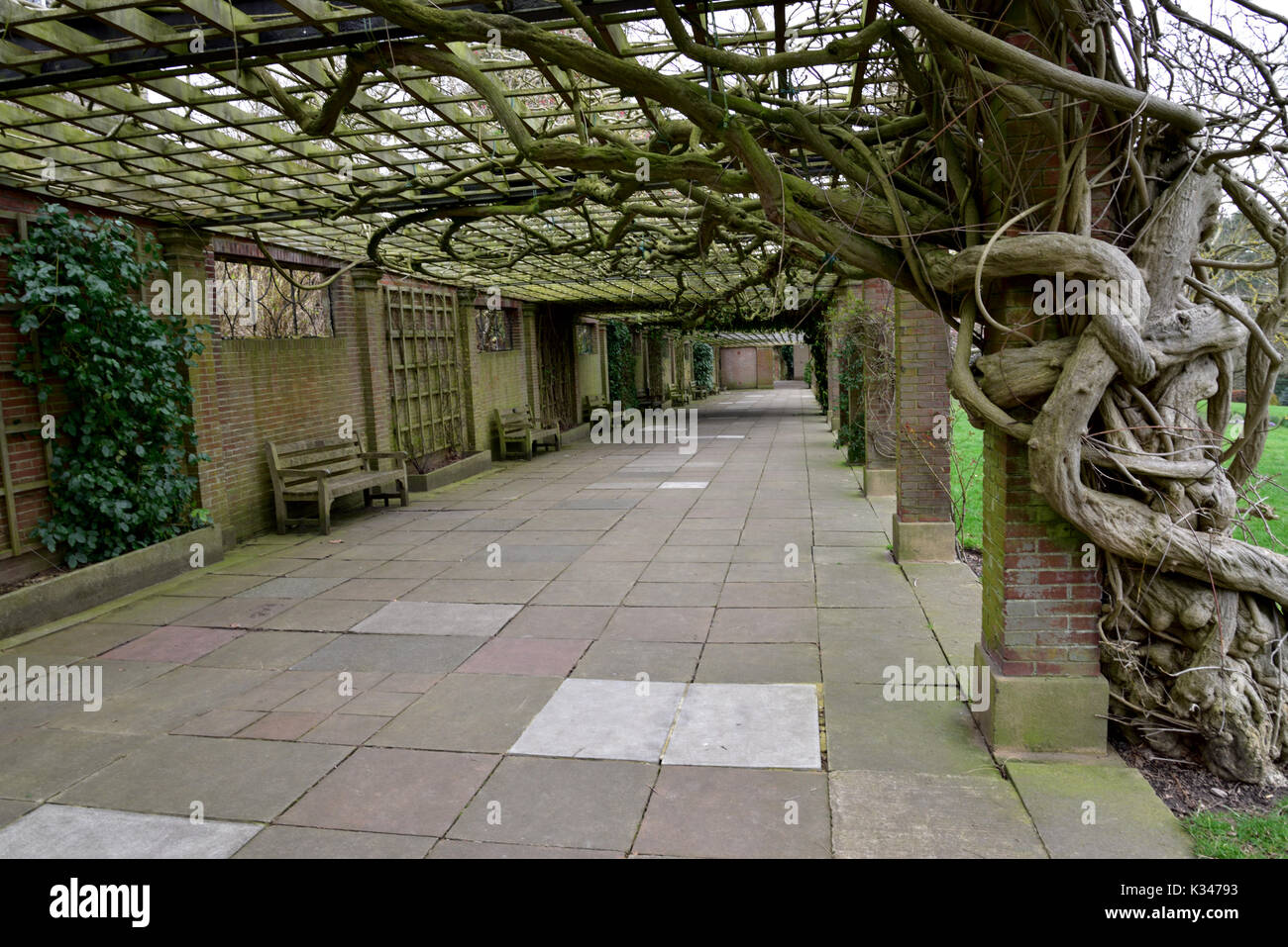 Harrogate, a spar town in North Yorkshire. - Stock Image