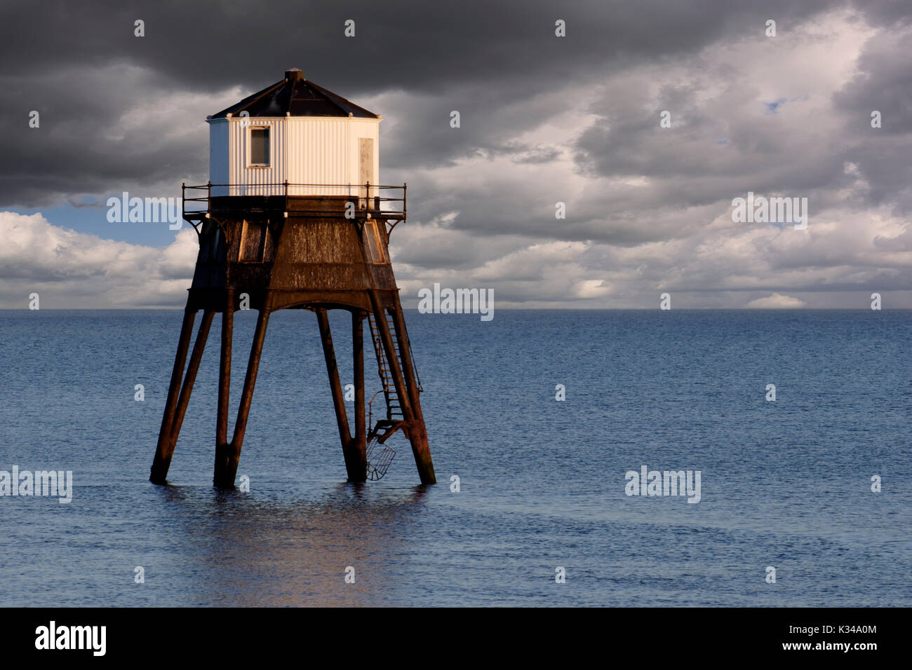 Disused Dovercourt Lighthouse Stock Photo