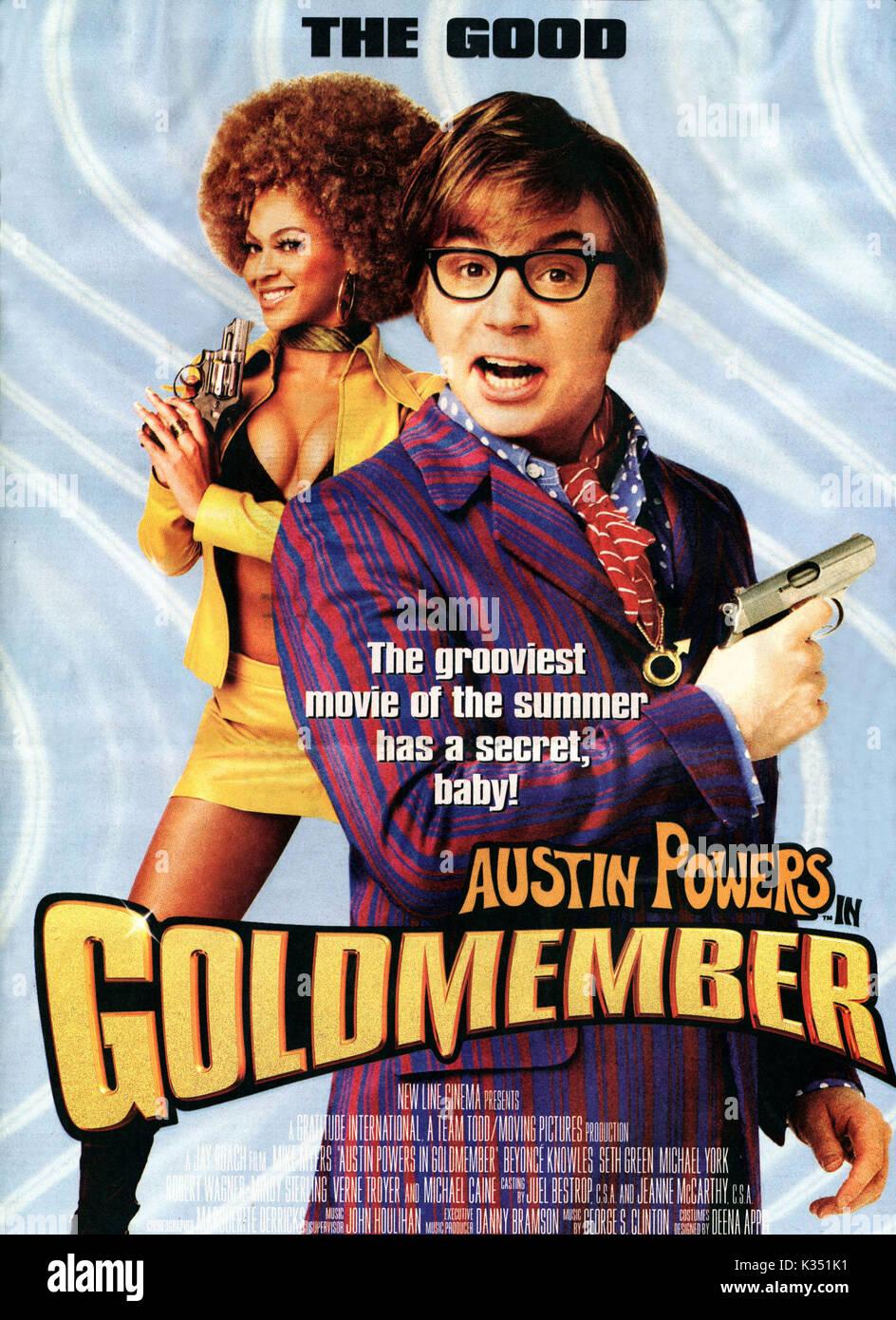 Austin Powers Goldmember Date 2002 Stock Photo Alamy