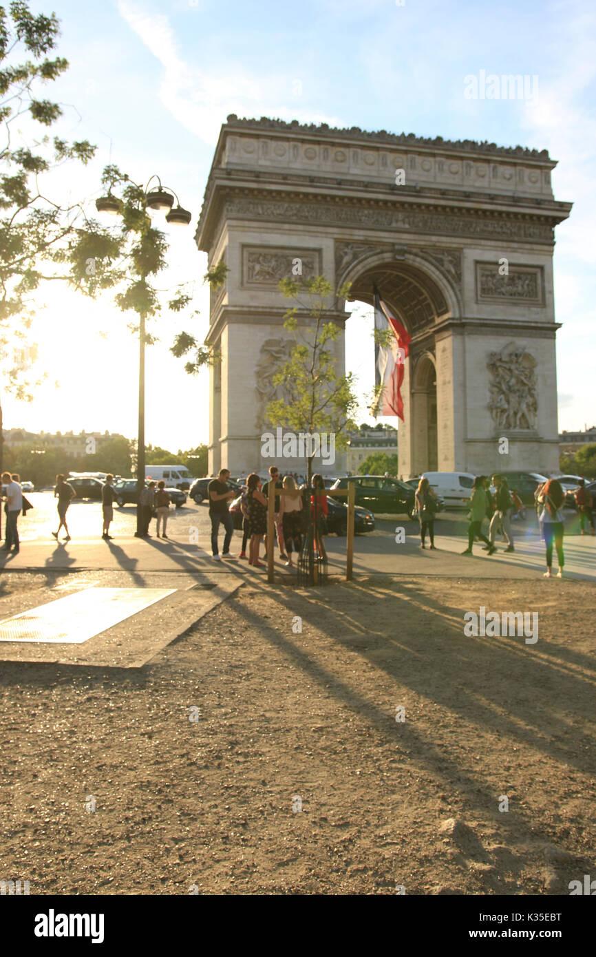 Arc de Triomphe - Stock Image