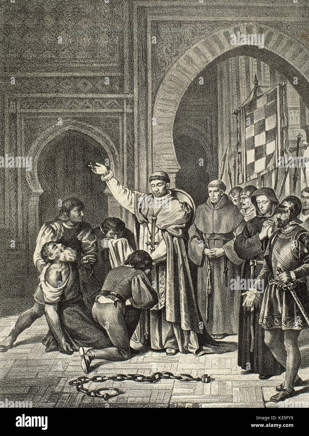 The Spanish conquest of Oran, May 17, 1509, by the Hispanic Monarchy when