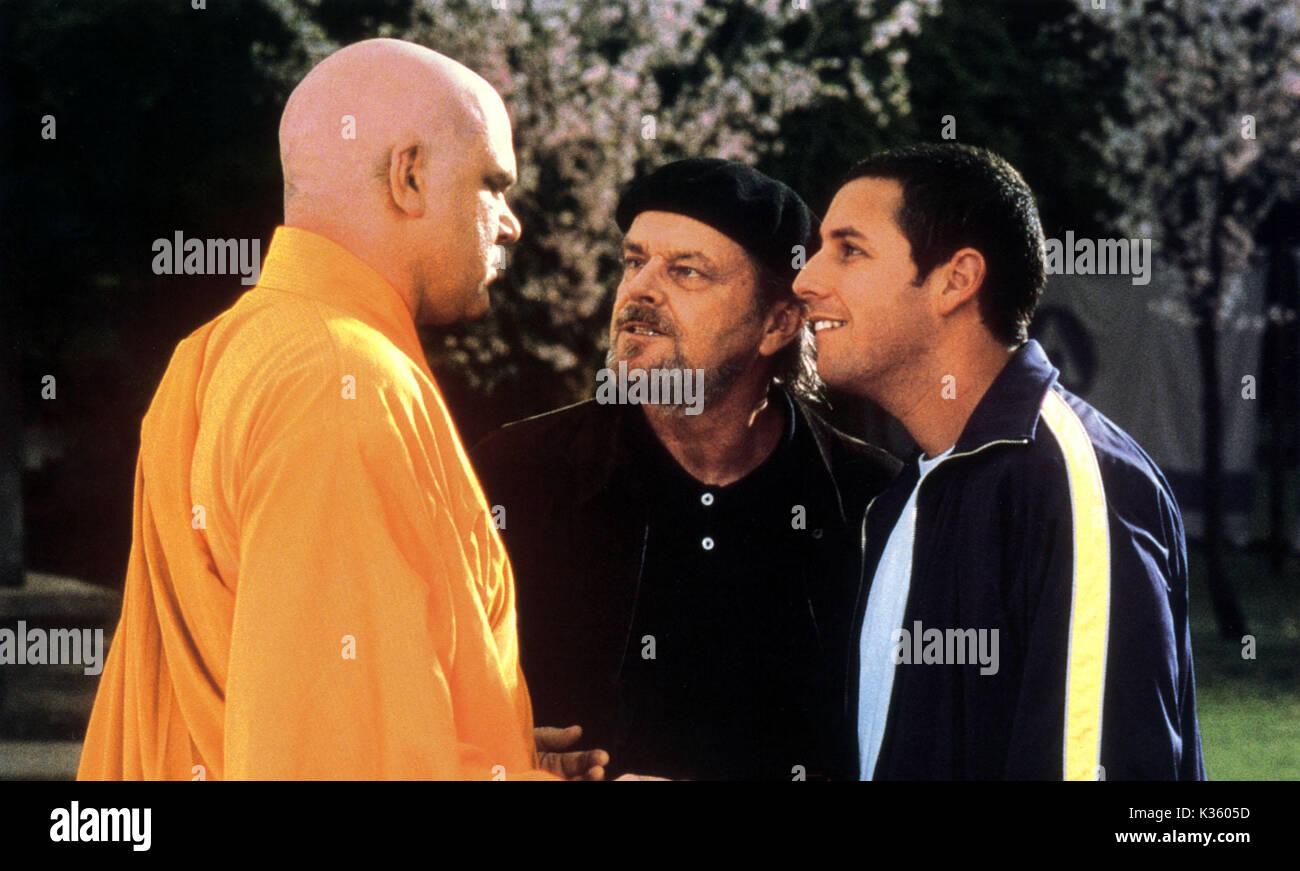 Anger Management Jack Nicholson Adam Sandler Date 2003 Stock Photo Alamy