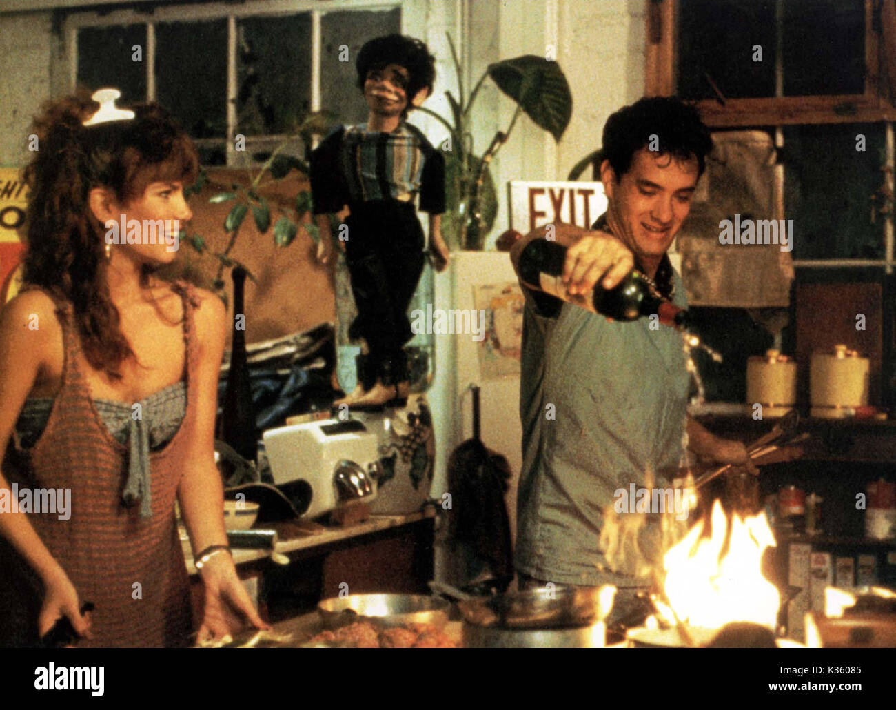 BACHELOR PARTY TAWNY KITAEN, TOM HANKS Date: 1984 Stock Photo ...