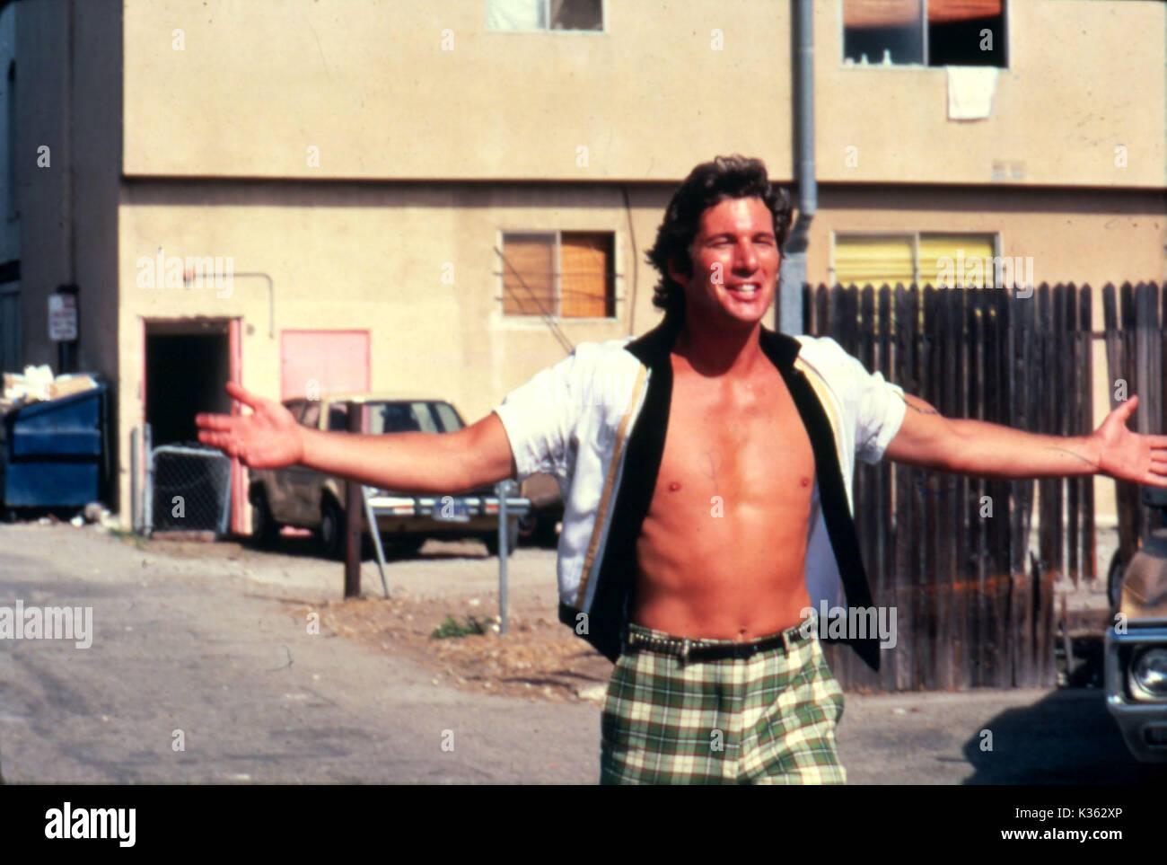 BREATHLESS RICHARD GERE     Date: 1983 - Stock Image