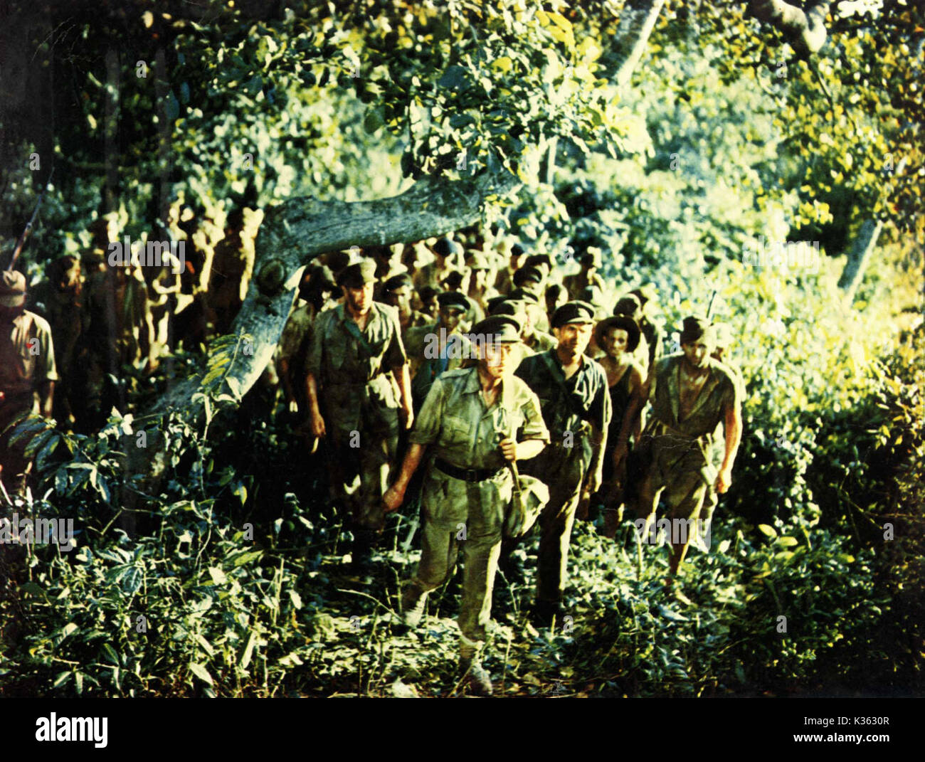 THE BRIDGE ON THE RIVER KWAI  ALEC GUINNESS     Date: 1957 Stock Photo