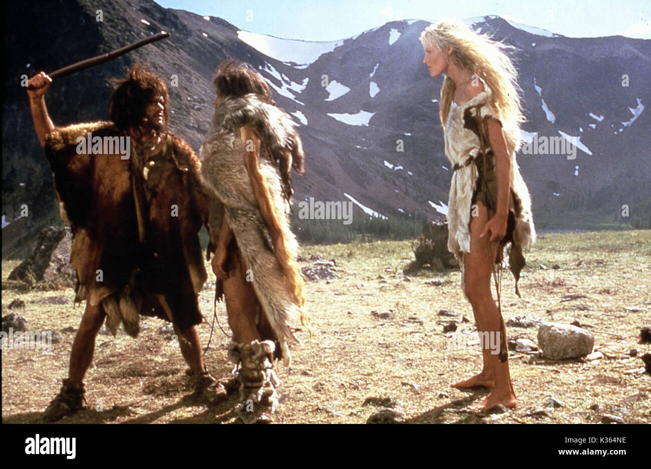The Clan Of The Cave Bear Daryl Hannah Date 1986 Stock Photo