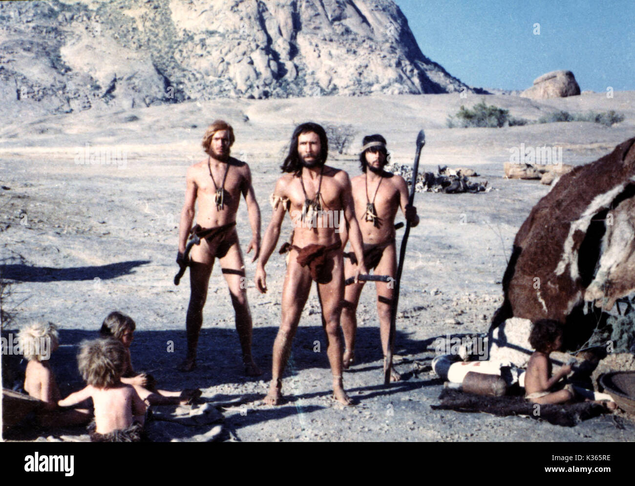 CREATURES THE WORLD FORGOT A HAMMER FILM PRODUCTION     Date: 1971 - Stock Image