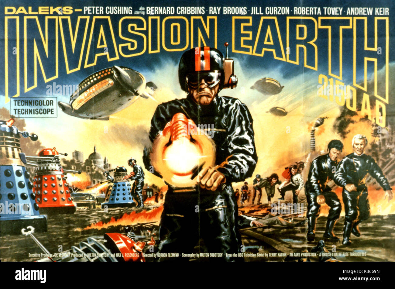 DALEKS' INVASION EARTH: 2150 AD (UK 1966) AMICUS PRODUCTIONS Date: 1966
