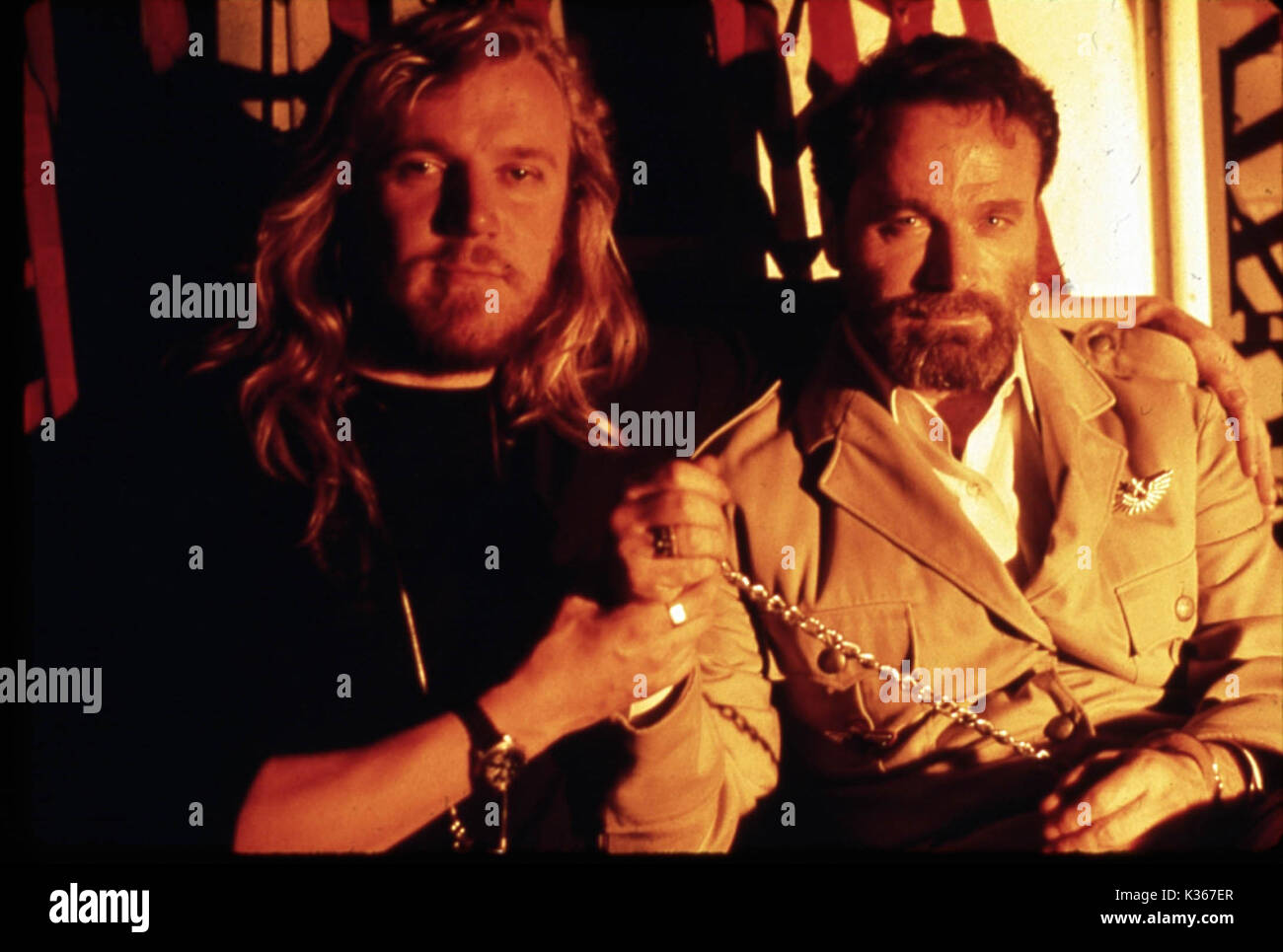 Die Hard 2 Die Harder Director Renny Harlin Franco Nero Date Stock Photo Alamy