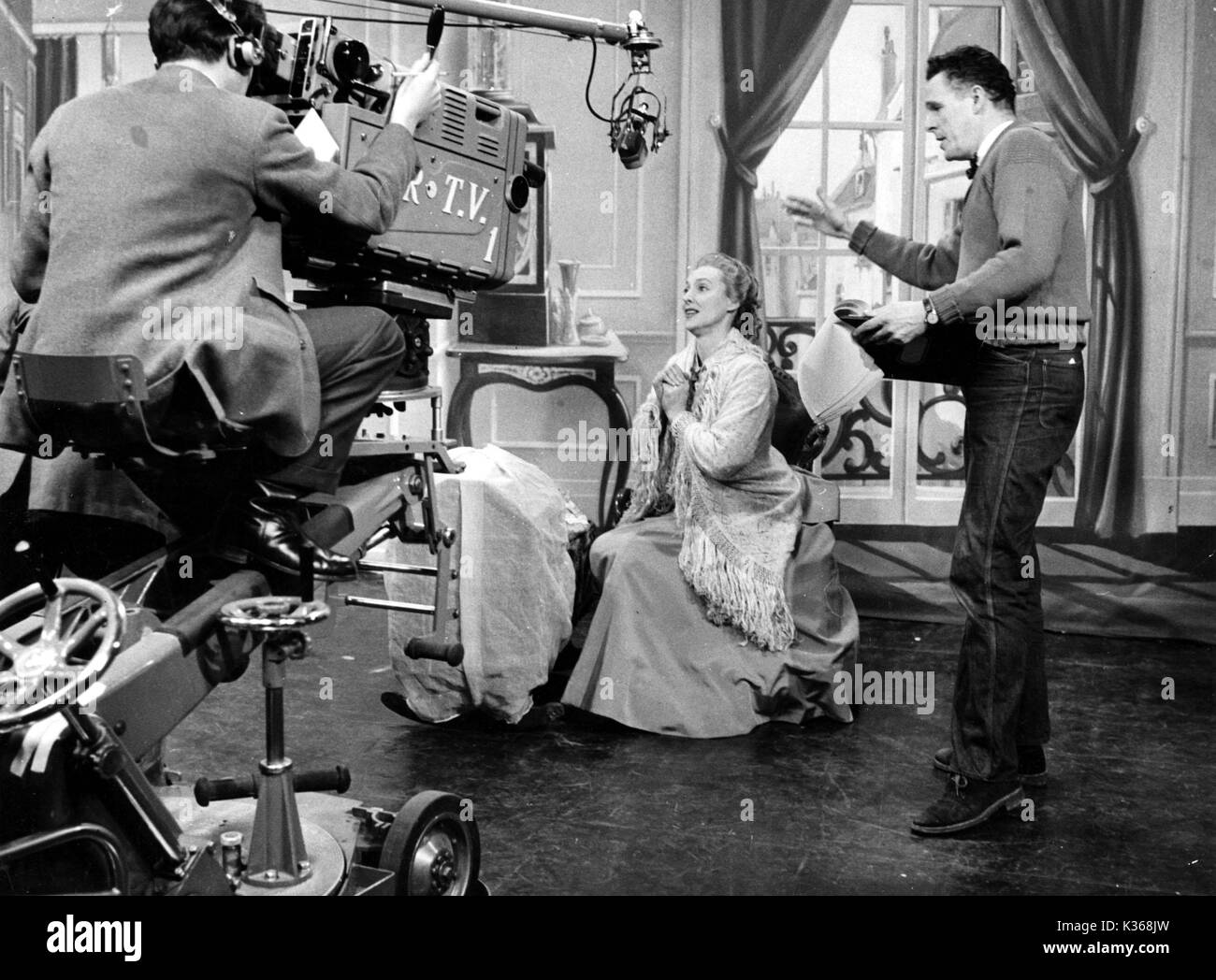 EAST LYNNE ASSOCIATED REDIFFUSION CYRIL BUTCHER directing HELEN SHINGLER - Stock Image