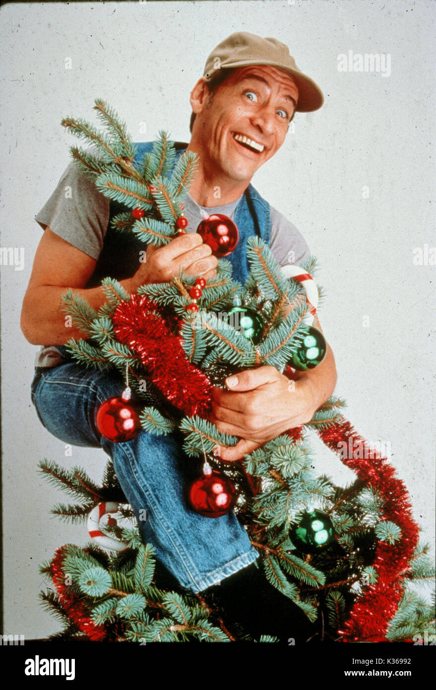 ernest saves christmas jim varney date 1988 stock image - Ernest Saves Christmas