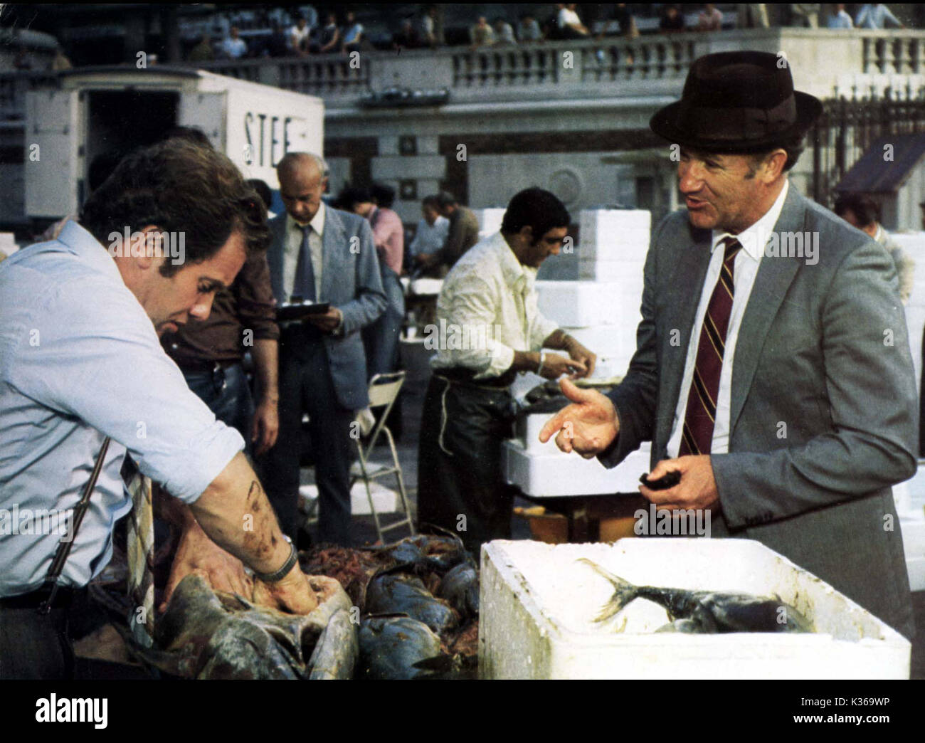 880a8803f70 FRENCH CONNECTION 2 GENE HACKMAN Date: 1975 Stock Photo: 156876770 ...