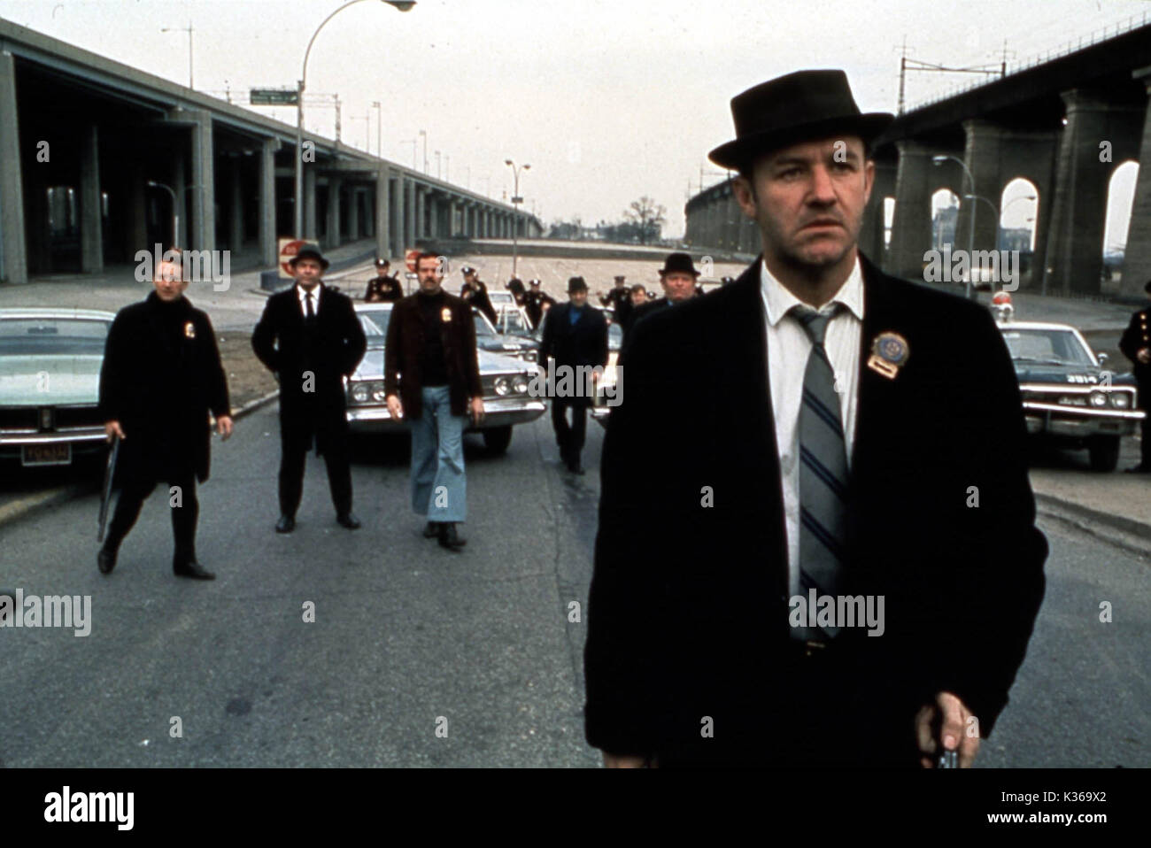 fcc9d7e15f6 FRENCH CONNECTION GENE HACKMAN Date: 1971 Stock Photo: 156876778 - Alamy