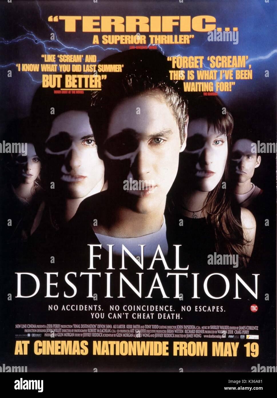 FINAL DESTINATION      Date: 2000 - Stock Image