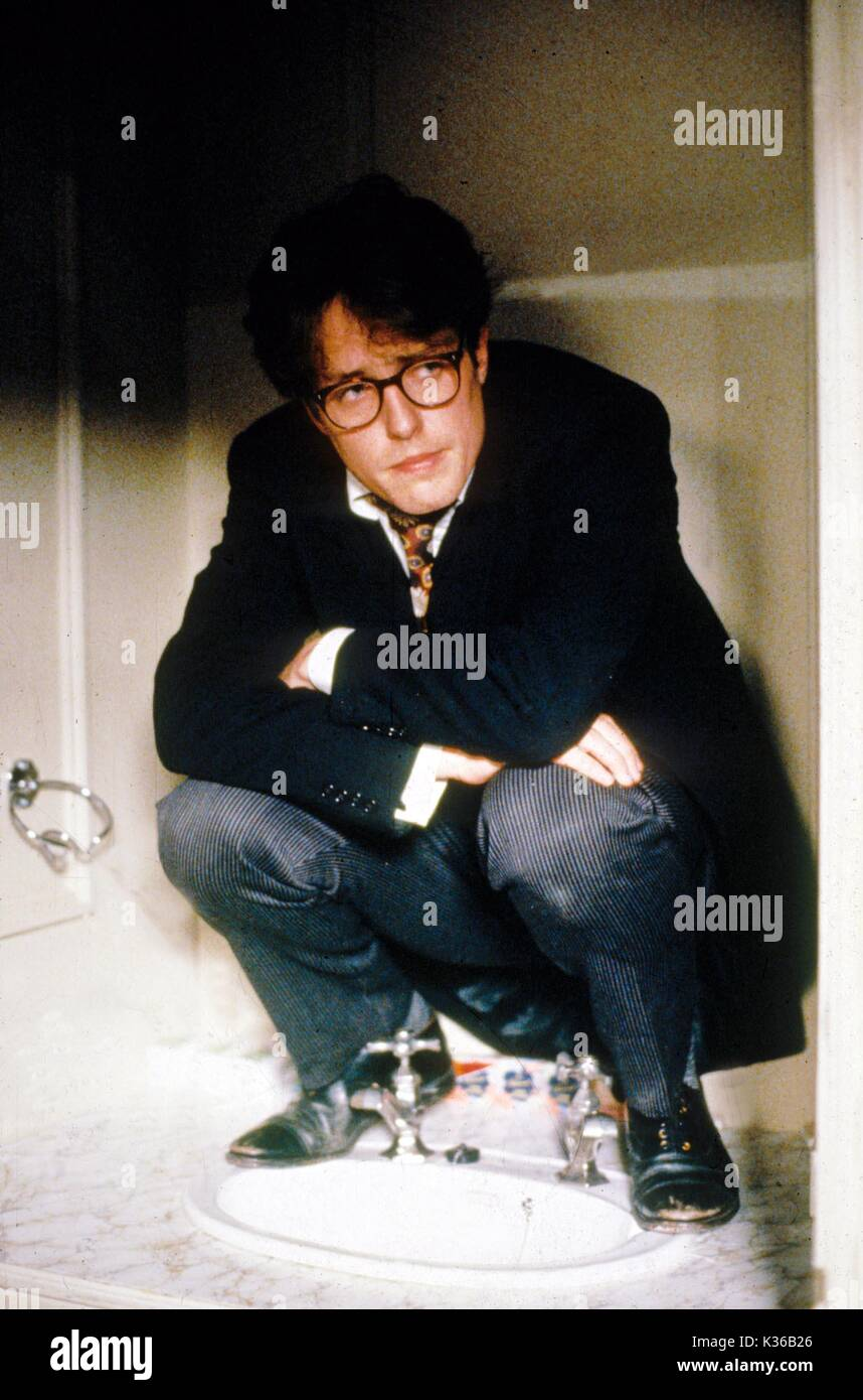 Four Weddings And A Funeral Hugh Grant Date 1994 Stock Photo Alamy