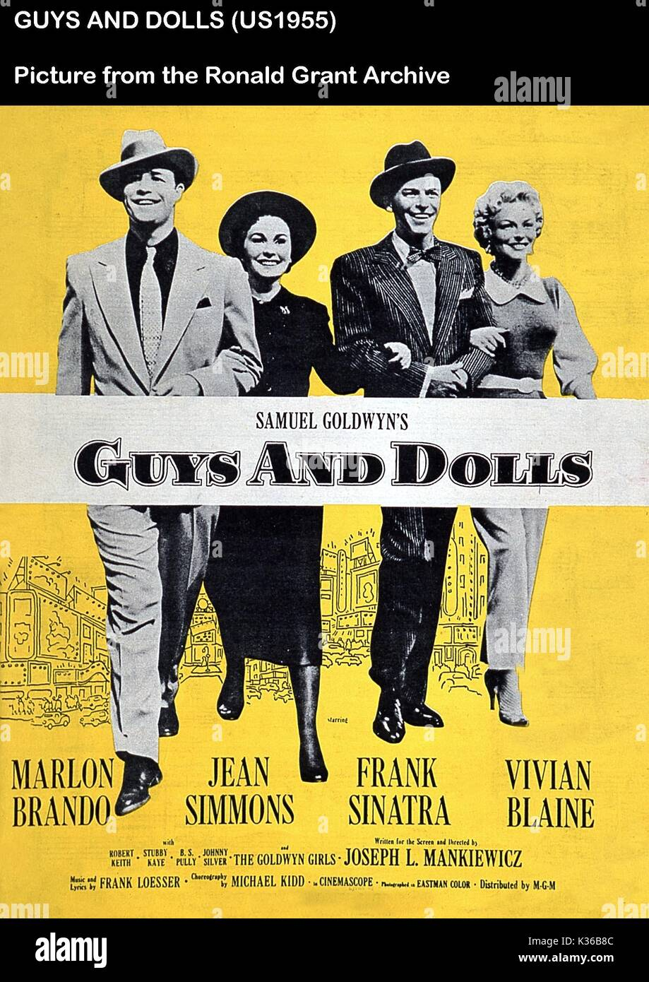 The action is.. Inspired by the stories of Damon Runyon, Guys and Dolls is.