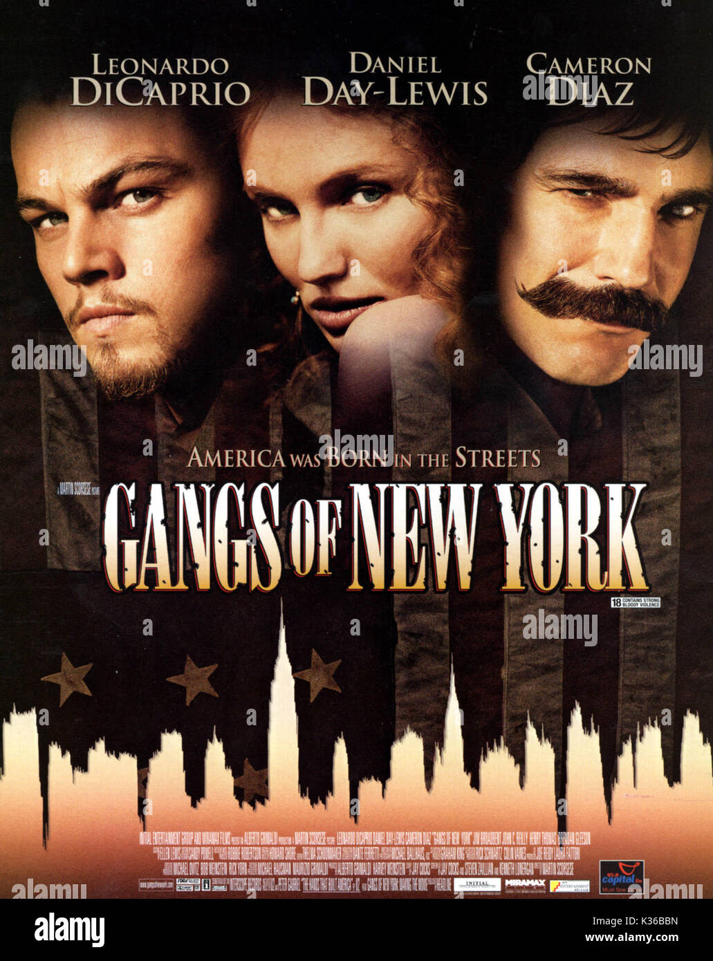 THE GANGS OF NEW YORK      Date: 2002 - Stock Image