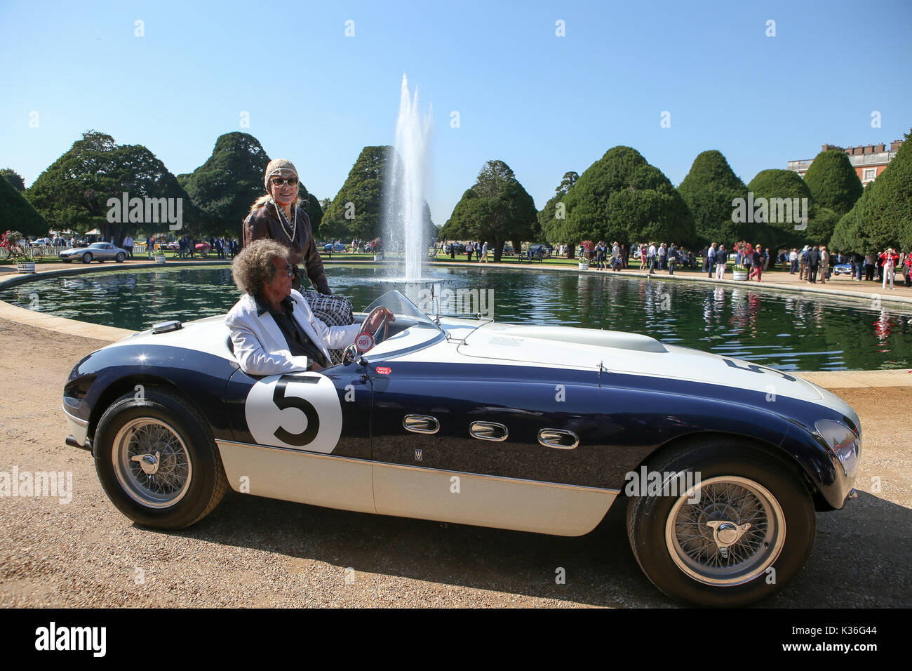 London, 1st September, 2017. Concours of Elegance owners day at ...