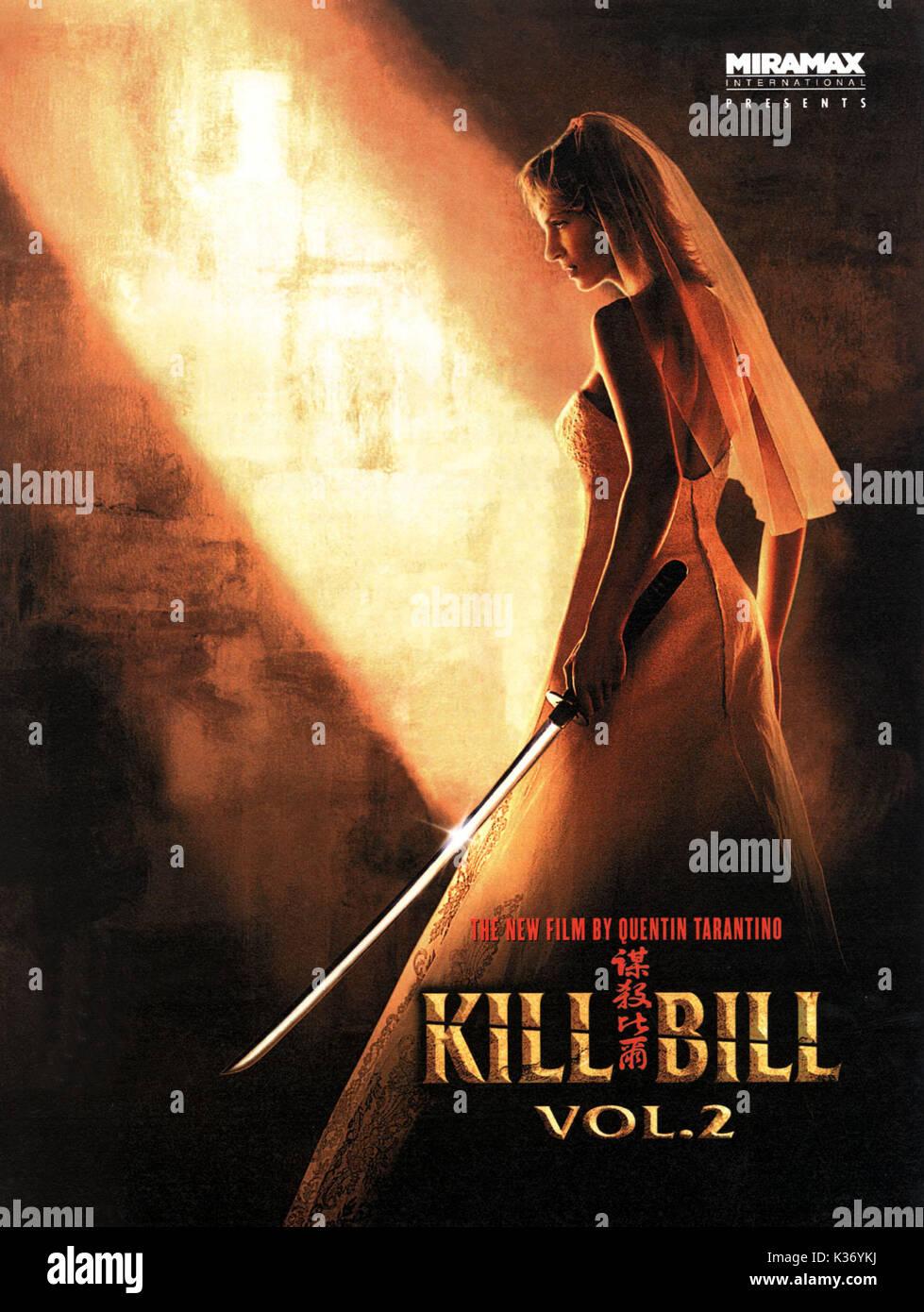 VOL 2 Movie PHOTO Print POSTER Film Art Uma Thurman David Carradine 6 KILL BILL