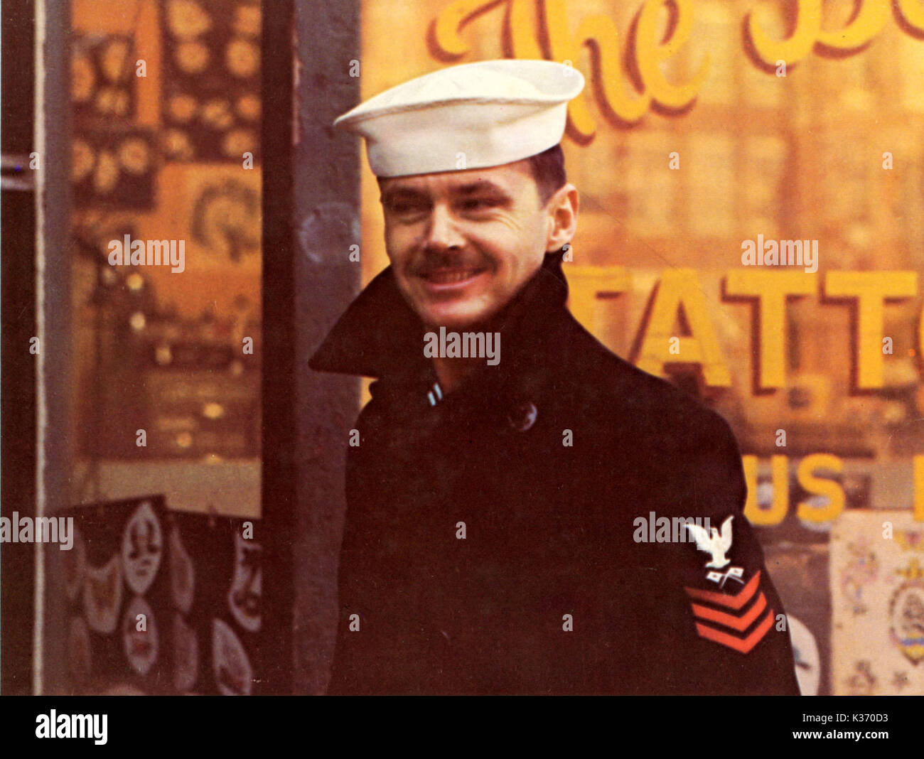 THE LAST DETAIL COLUMBIA PICTURES JACK NICHOLSON     Date: 1973 - Stock Image