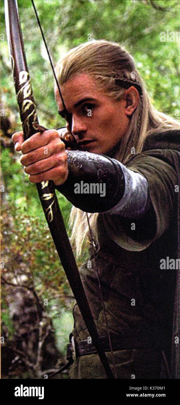 The Lord Of The Rings The Fellowship Of The Ring Orlando Bloom As Stock Photo Alamy