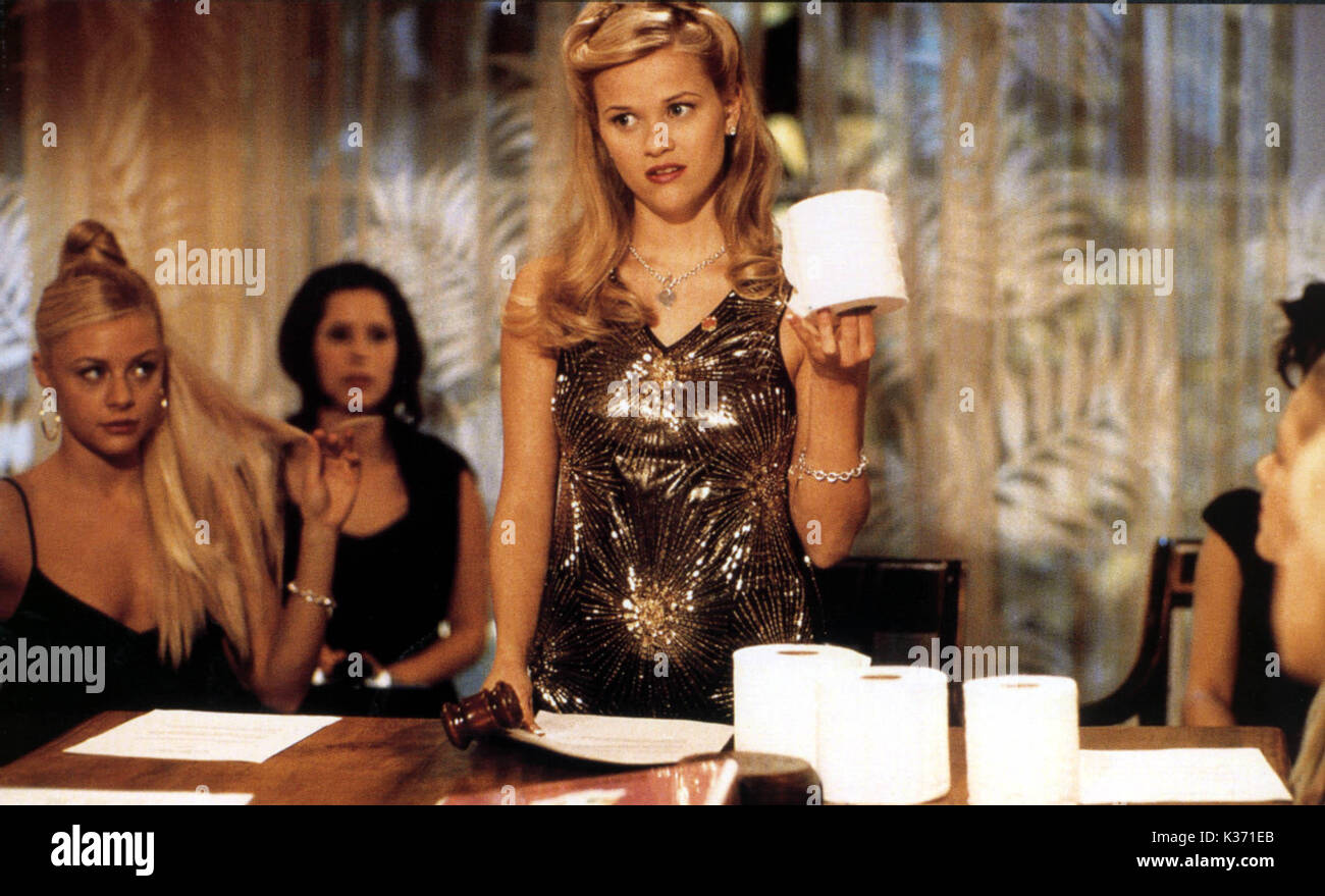 LEGALLY BLONDE REESE WITHERSPOON     Date: 2001 - Stock Image