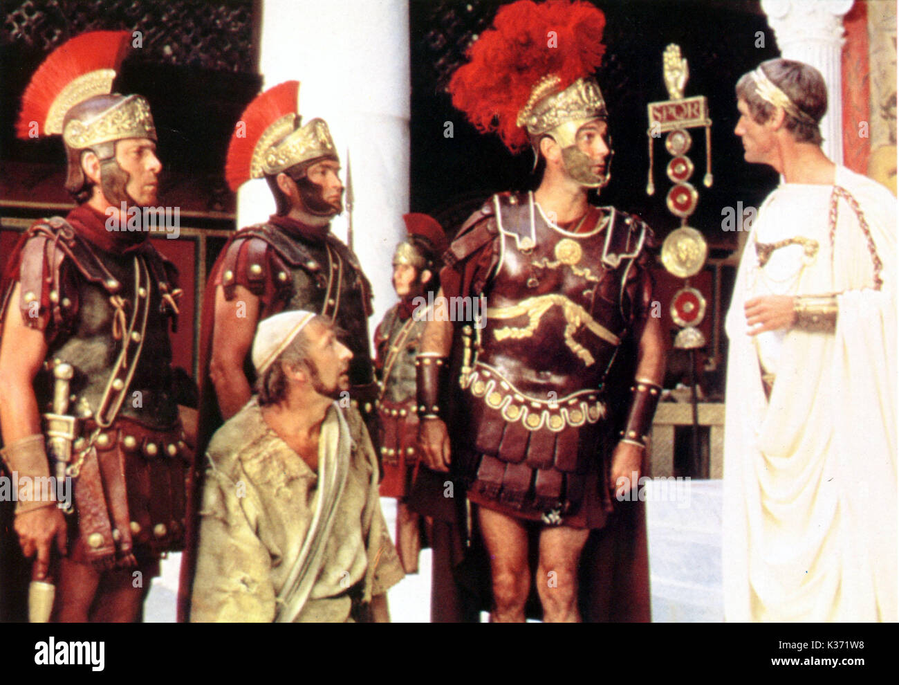 MONTY PYTHON'S LIFE OF BRIAN (UK 1979) HANDMADE FILMS/PYTHON PICTURES LTD ?, ?, GRAHAM CHAPMAN, JOHN CLEESE, MICHAEL PALIN Picture from the Rnald Grant Archive     Date: 1979 - Stock Image