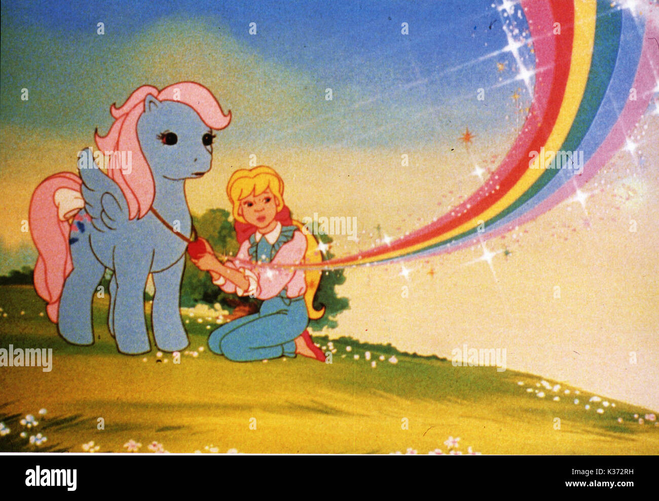 MY LITTLE PONY PLEASE CREDIT COPYRIGHT HASBRO INDUSTRIES/SUNBOW PRODUCTIONS     Date: 1986 - Stock Image