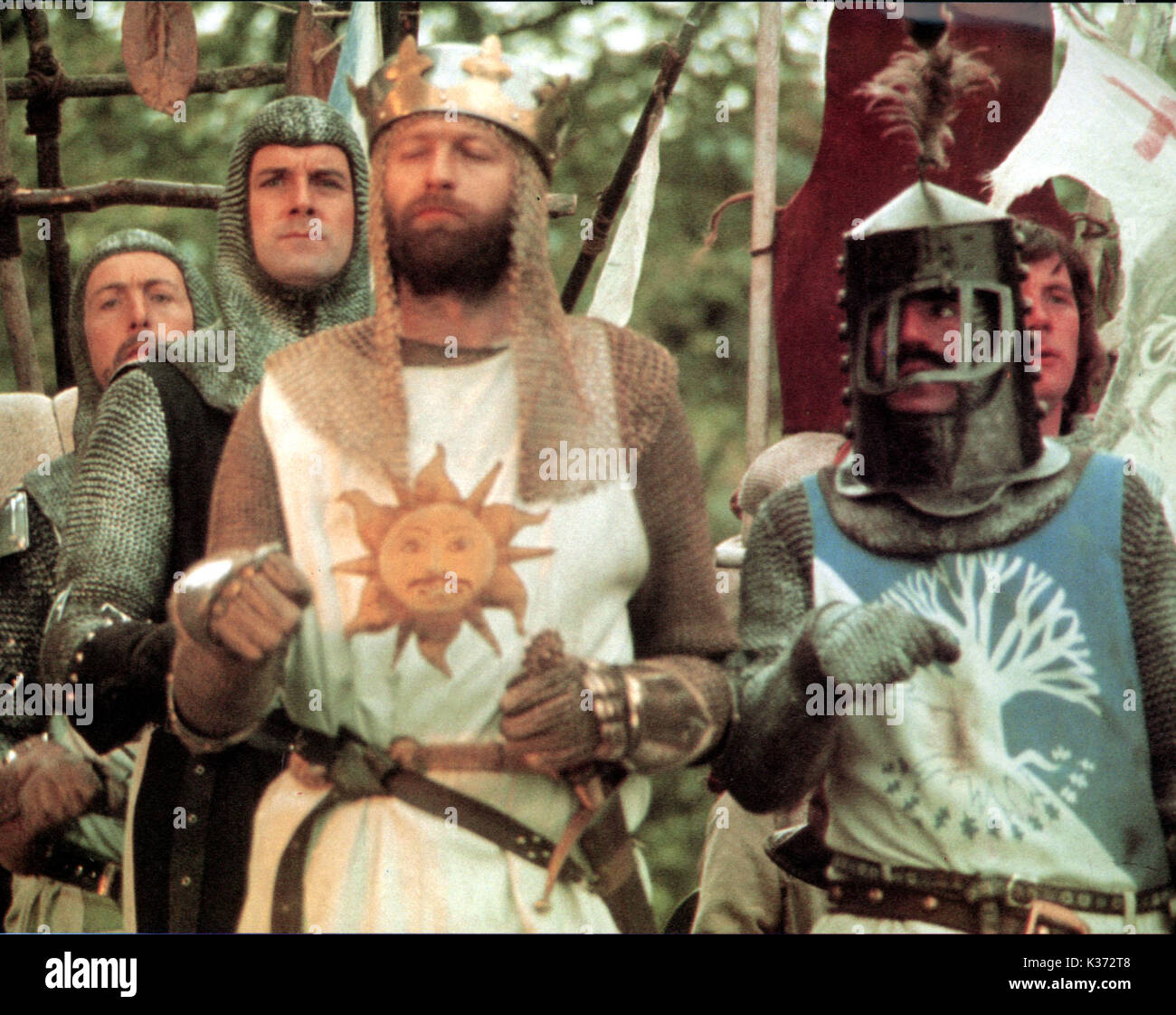 Monty Python The Royal Philharmonic Orchestra Goes To The Bathroom: Monty Python And The Holy Grail Eric Idle Stock Photos
