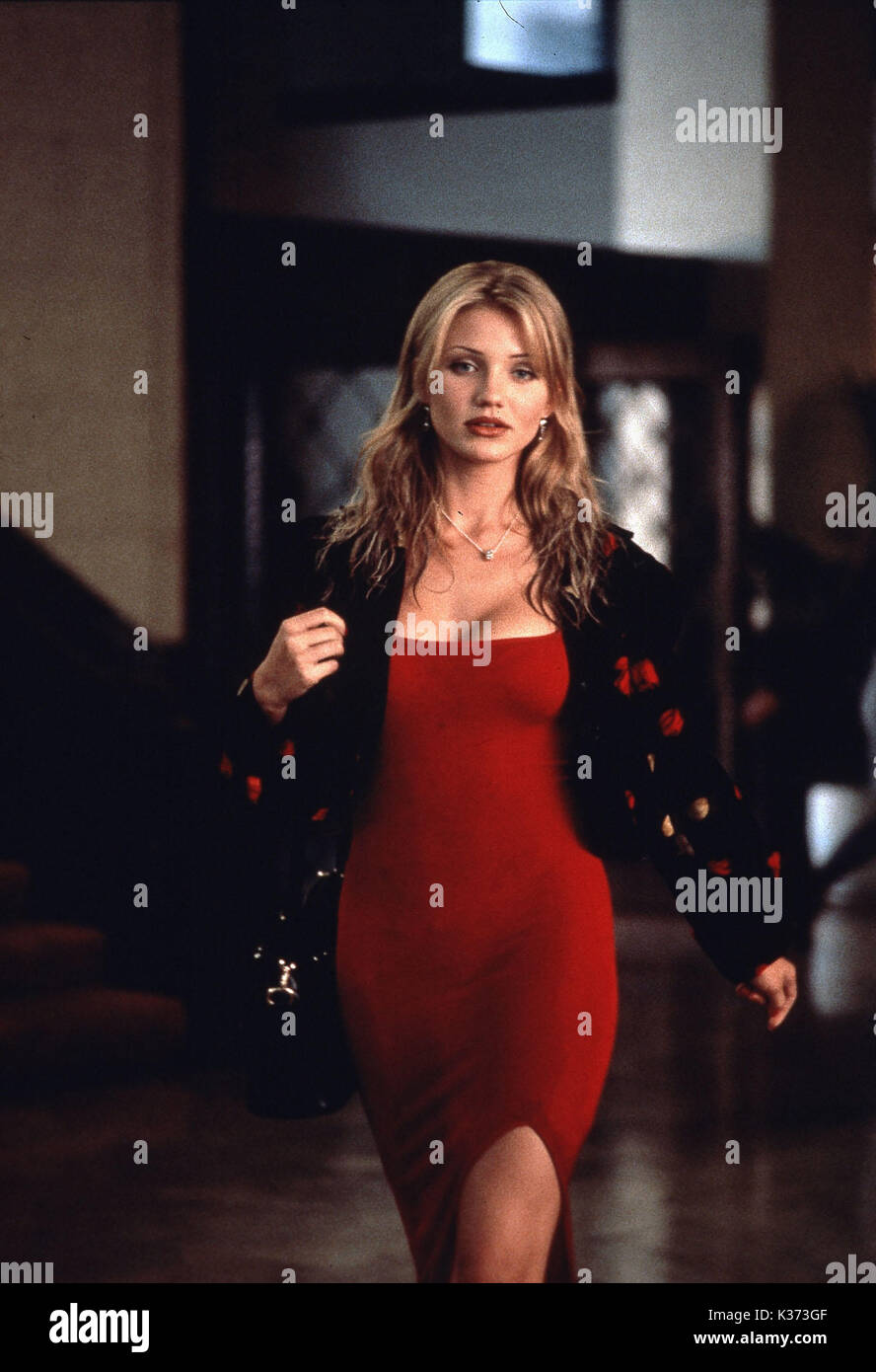 THE MASK CAMERON DIAZ Date: 1994 Stock Photo: 156893759 ...