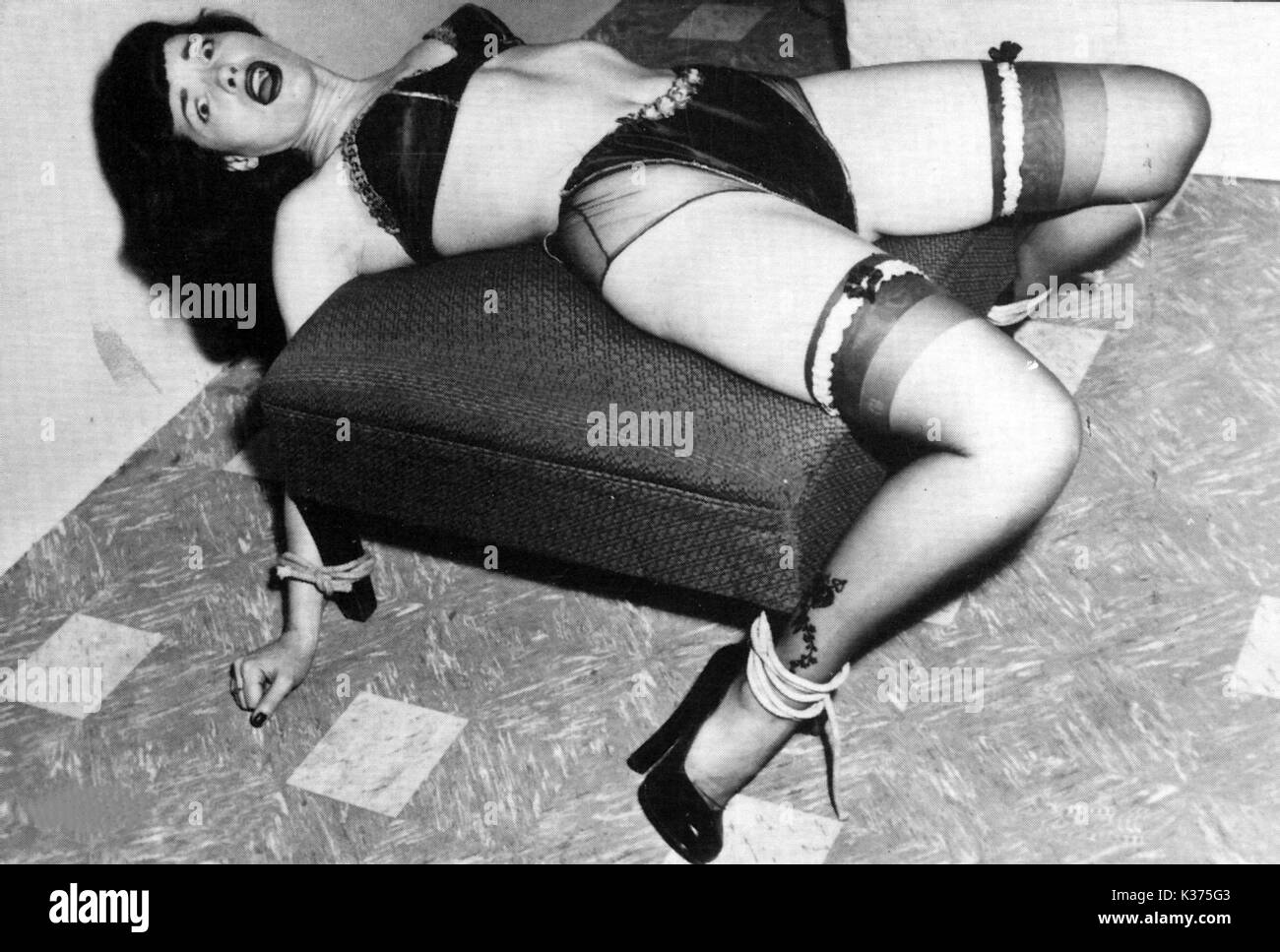 Bettie Page Hd bettie page stock photo: 156895315 - alamy
